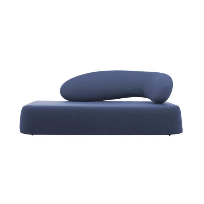 Диван ChatДвухместные<br>Дизайнерский диван Chat обладает необычной формой и стилем, что выделяет его среди других диванов современного типа. Диван Chat имеет довольно широкое сиденье и интересную оригинальную спинку, которая благодаря своему плавному изгибу способствует приятному и расслабляющему отдыху.<br><br><br> Диван изготовлен из высококачественных материалов, которые гарантируют его надежность и долговечность. Весь корпус и спинка дивана обиты приятным на ощупь экологически чистым войлоком, который давно извес...<br><br>stock: 0<br>Высота: 85<br>Высота сиденья: 39<br>Глубина: 100<br>Длина: 210<br>Материал обивки: Полиэстер<br>Коллекция ткани: Tempo<br>Тип материала обивки: Ткань<br>Цвет обивки: Тёмно-синий