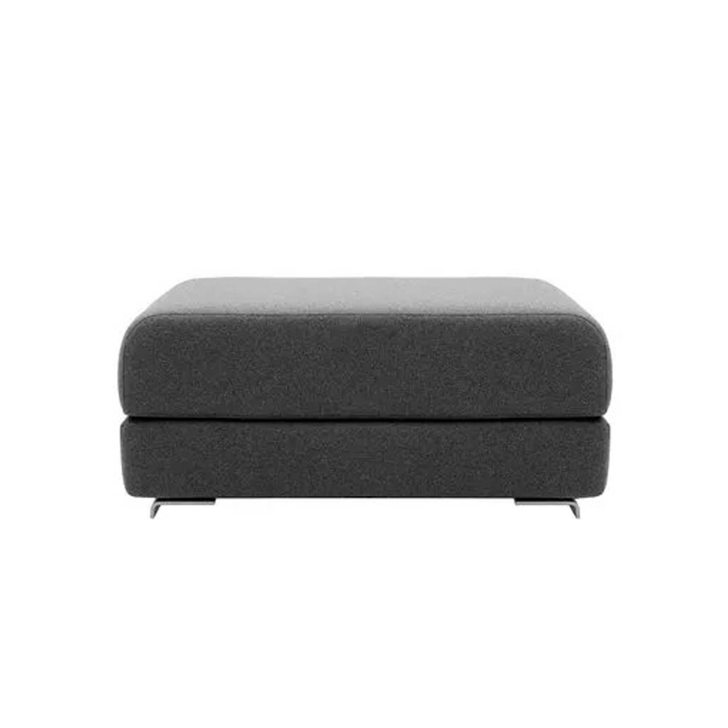 Пуф LoungeПуфы и оттоманки<br>Минималистичный интерьер предполагает не только отсутствие лишних деталей и элементов декора, но и мебель лаконичной формы. Однако именно такая мягкая мебель, как пуфы, способна украсить общую обстановку комнаты и сделать ее в разы уютнее и теплее. Пуф Lounge можно отнести сразу к нескольким стилям, например к утонченному и лаконичному японскому стилю или к современному стилю хай-тек. В любом случае благодаря своему универсальному дизайну пуф Lounge будет гармонично смотреться практически...<br><br>stock: 0<br>Высота: 40<br>Ширина: 98<br>Глубина: 75<br>Материал ножек: Алюминий<br>Цвет сидения: Темно-серый<br>Тип материала сидения: Ткань