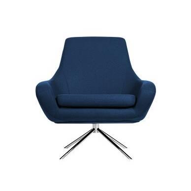 Кресло NoomiИнтерьерные<br>Кресло Noomi — это идеальное решение для домашнего или офисного кабинета. Дизайнер постарался сделать его максимально комфортным: широкое сиденье имеет удобную мягкую подушку, что позволяет чувствовать себя комфортно даже при длительном сидячем положении, а высокая спинка способствует ровной осанке.<br><br><br> Особое внимание стоит уделить поворотной функции кресла Noomi, благодаря которой вы можете с легкостью принимать удобное для вас положение. Обивка кресла сделана из экологически чистого ...<br><br>stock: 0<br>Высота: 90<br>Высота сиденья: 45<br>Ширина: 84<br>Глубина: 71<br>Цвет ножек: Хром<br>Механизмы: Поворотная функция<br>Материал ножек: Металл<br>Материал обивки: Войлок<br>Цвет обивки: Тёмно-синий