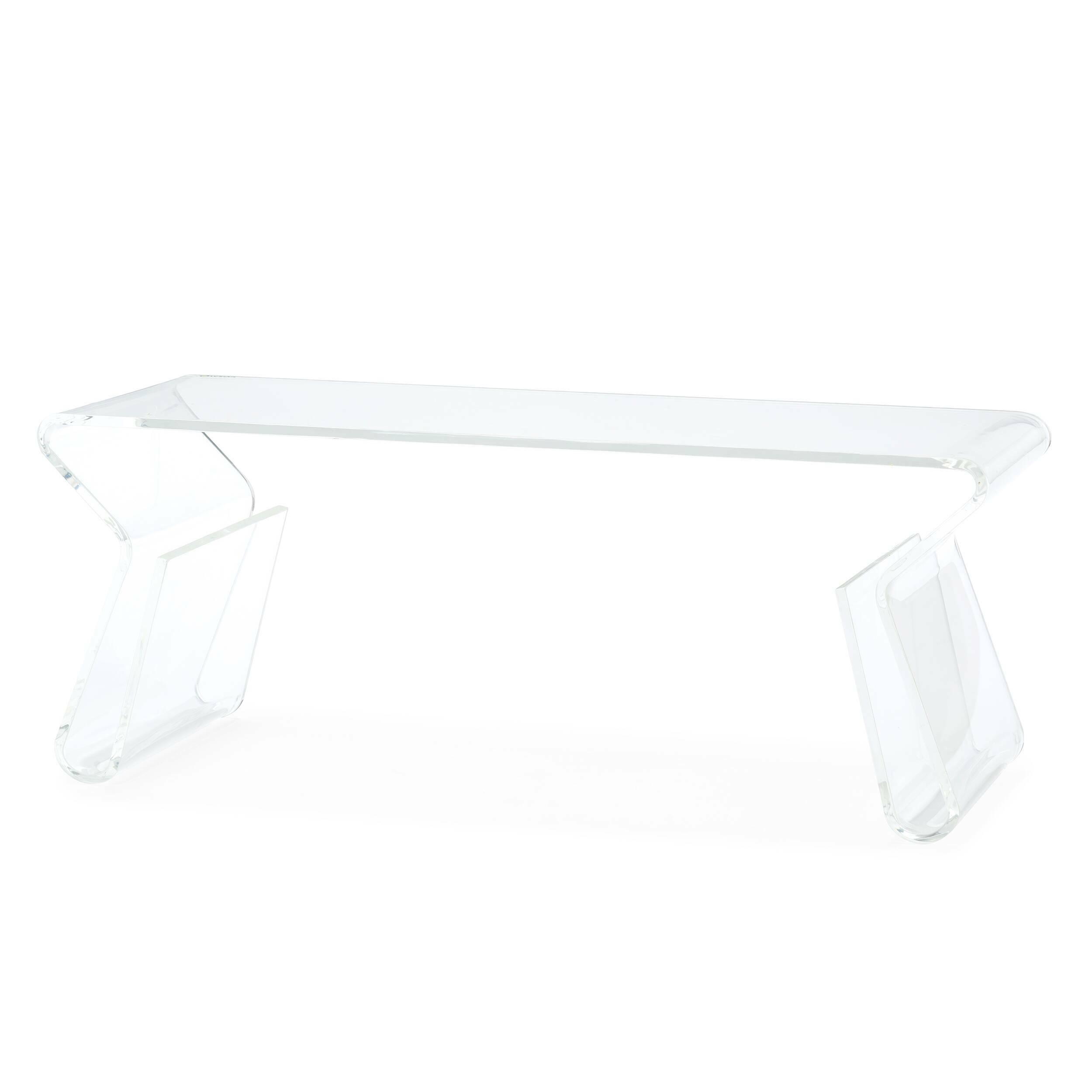 Кофейный стол AcrylicКофейные столики<br>Дизайнерский стильный акриловый прозрачный кофейный стол Acrylic (Акрилик) от Cosmo (Космо).<br><br><br> Хотите сделать свой интерьер по-настоящему красивым и удобным? Без лишних нагромождений, но чтобы пребывание в нем было максимально комфортным? Тогда стоит обратить внимание на такую важную деталь интерьера, как журнальный или кофейный столик. Благодаря ему вы всегда сможете держать под рукой часто используемые предметы, и кроме того, он отлично украсит и разнообразит обстановку всего помещен...<br><br>stock: 0<br>Высота: 39,5<br>Ширина: 40<br>Диаметр: 100<br>Тип материала каркаса: Акрил<br>Цвет каркаса: Прозрачный