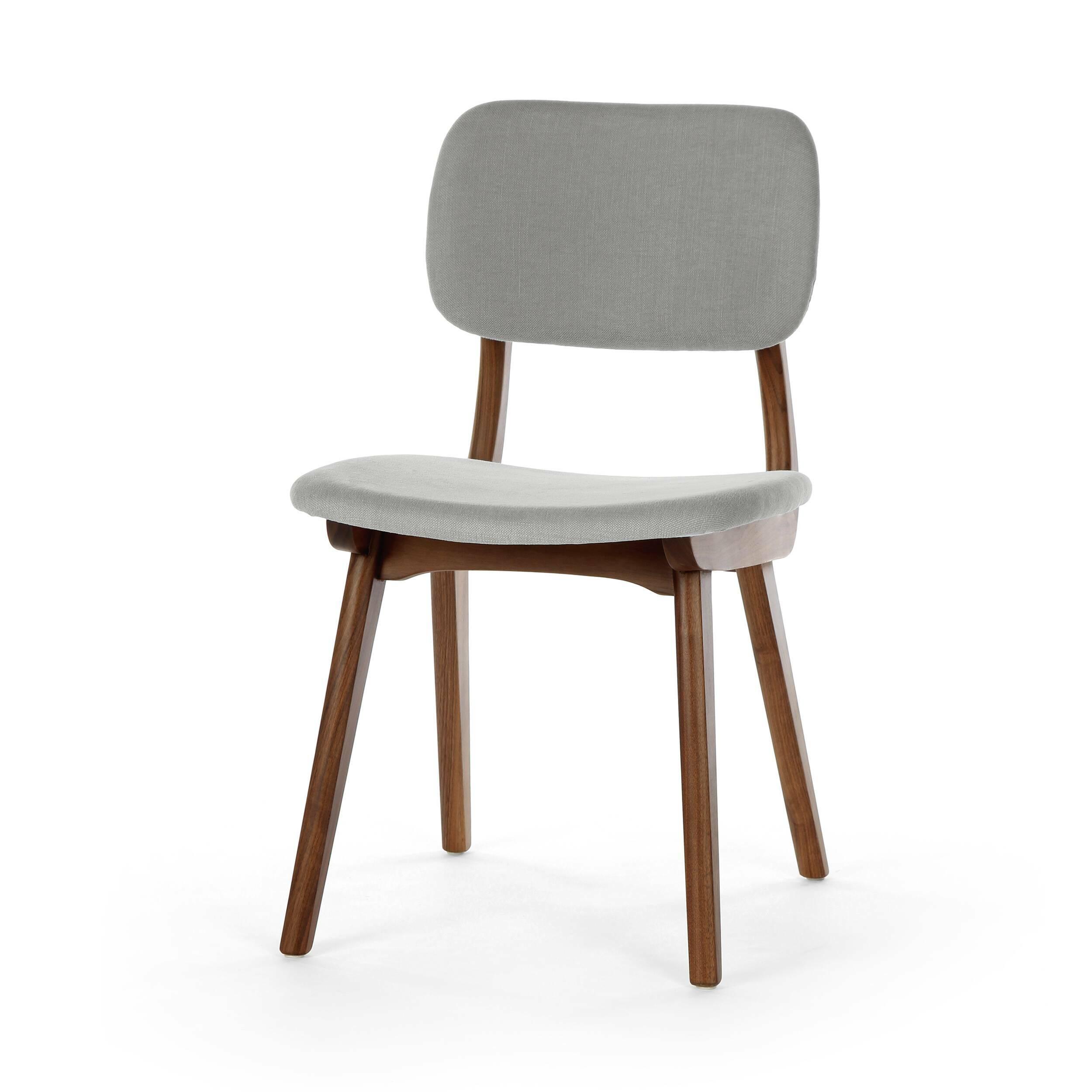 Стул Civil 1Интерьерные<br>Стул Civil 1 — это простой дизайн и комфорт, стиль и изящество элитного дерева. Этот стул будет прекрасно смотреться не только в офисе или кабинете, но и отлично впишется в интерьер вашей квартиры. Благодаря различным расцветкам, имеющимся в наличии, вы сможете подобрать стул, который подойдет именно вам.<br><br><br> В качестве основного материала для изготовления этих стульев используется высококачественная, невероятно прочная древесина американского ореха и белого дуба. Сиденье и спинка стуль...<br><br>stock: 0<br>Высота: 78<br>Высота сиденья: 44<br>Ширина: 45<br>Глубина: 52,5<br>Материал каркаса: Массив ореха<br>Тип материала каркаса: Дерево<br>Материал сидения: Хлопок, Лен<br>Цвет сидения: Светло-серый<br>Тип материала сидения: Ткань<br>Коллекция ткани: Ray Fabric<br>Цвет каркаса: Орех