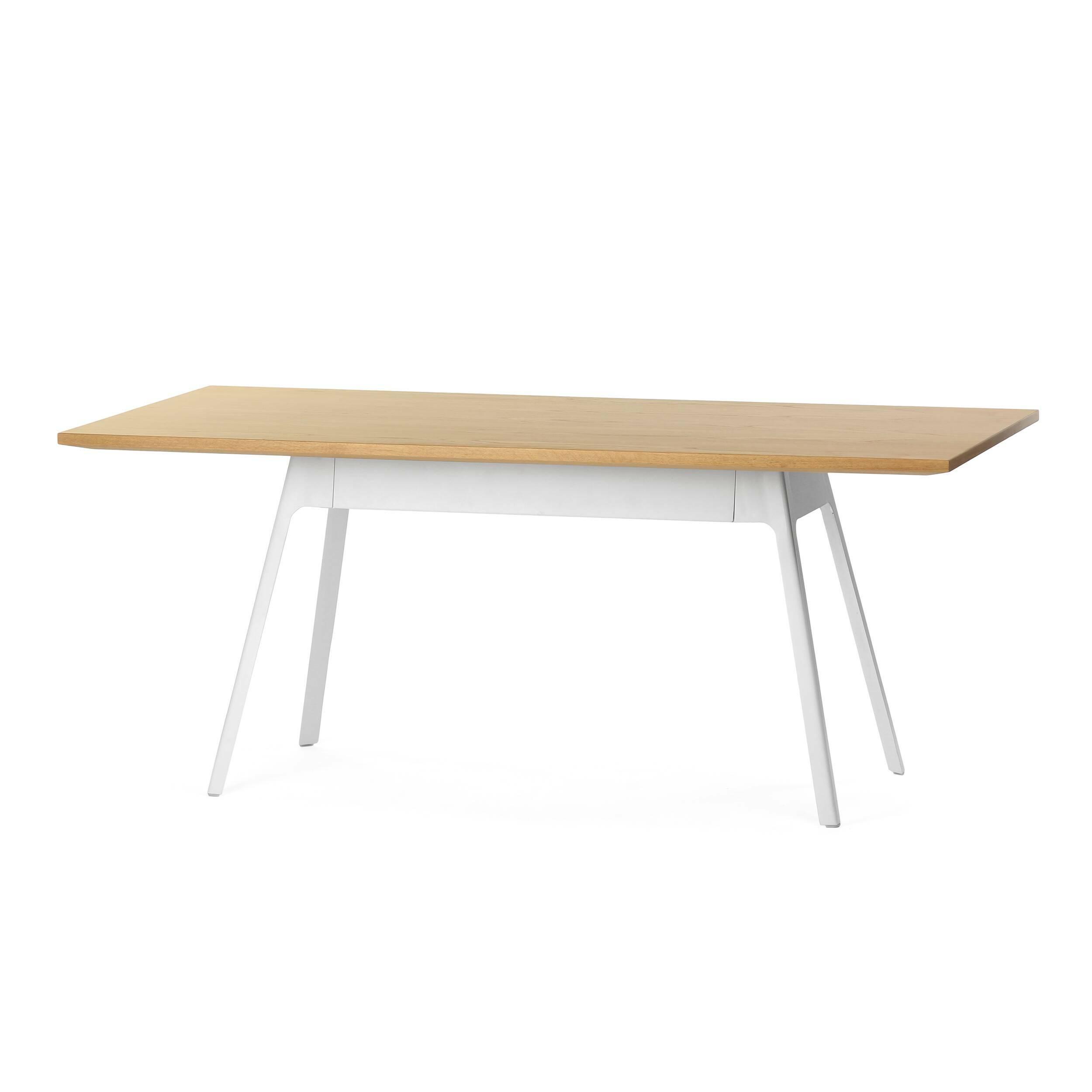 Обеденный стол Yardbird прямоугольный 180х90 с металлическими ножками обеденный стол wellington прямоугольный