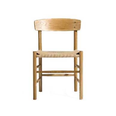 Стул J39Интерьерные<br>Изделия дизайнера Борге Моргенсена стали своеобразной классикой датского мебельного дизайна. Стул J39 – это один из наиболее ярких творений великого автора. Слегка вогнутое удобное сиденье, комфортная изогнутая спинка, надежный каркас – все детали изделия способствуют наиболее комфортному и здоровому применению этого стула.<br><br><br> Проект создан из лучших материалов, которые подчеркивают его неповторимую индивидуальность и высокое качество. Весь каркас, спинка и сиденье стула J39 сделаны из ...<br><br>stock: 0<br>Высота: 75,5<br>Высота сиденья: 44<br>Ширина: 48,5<br>Глубина: 44<br>Материал каркаса: Массив дуба<br>Тип материала каркаса: Дерево<br>Цвет сидения: Бежевый<br>Тип материала сидения: Корд бумажный<br>Цвет каркаса: Белый дуб