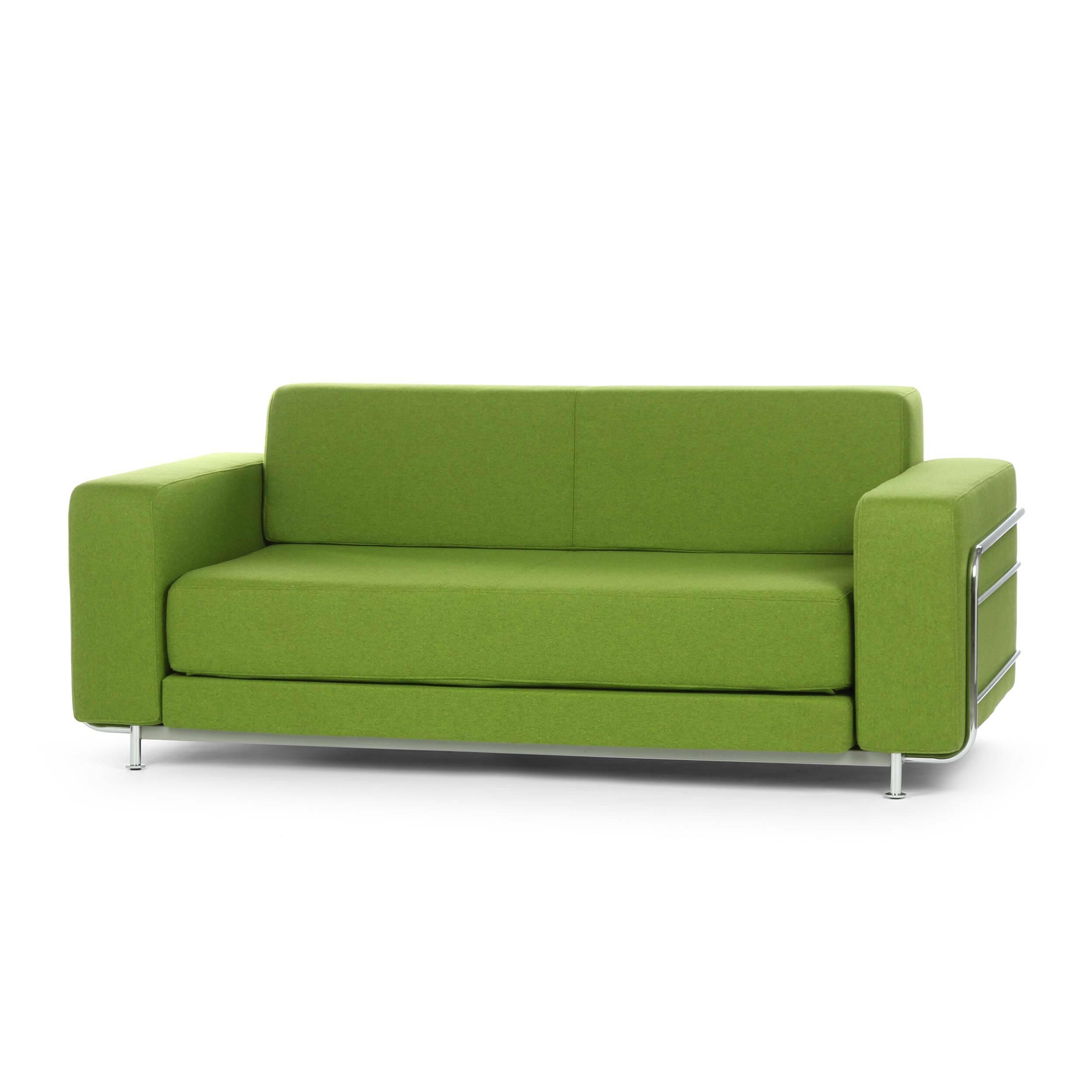 Диван SilverРаскладные<br>Дизайнерский диван Silver (Сильвер) из шерсти, полиамида и со стальным каркасом от Softline (Софтлайн).<br><br> Диван Silver — это аккуратный, элегантный и минималистичный диван, работа Стине Энгельбрехтсен, известного датского дизайнера мебели, которая разработала большую коллекцию модульных диванов и серию мягкой мебели. Стине с детства увлекалась живописью и потому поступила в датскую Школу дизайна по специальности промышленный дизайн. С 2000 года Стине Энгельбрехтсен работает в качестве незав...<br><br>stock: 0<br>Высота: 73<br>Высота сиденья: 38<br>Глубина: 86<br>Длина: 183<br>Материал обивки: Шерсть, Полиамид<br>Тип материала каркаса: Сталь<br>Коллекция ткани: Felt<br>Тип материала обивки: Ткань<br>Размер спального места (см): 196x140<br>Цвет обивки: Зеленый<br>Цвет каркаса: Белый