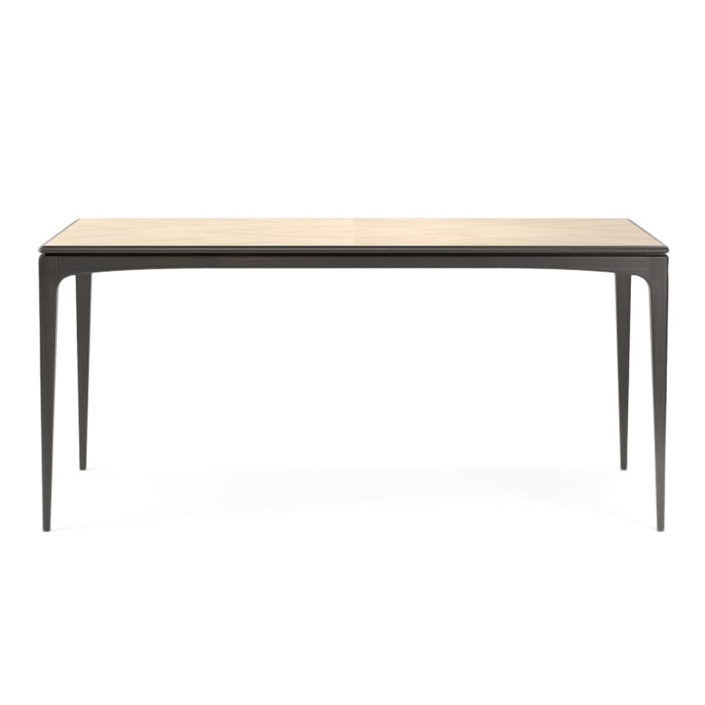 Обеденный стол Tynd длина 140Обеденные<br><br><br>stock: 0<br>Высота: 75<br>Ширина: 70<br>Длина: 140<br>Цвет столешницы: Светло-коричневый<br>Материал каркаса: Массив ясеня<br>Тип материала каркаса: Дерево<br>Цвет каркаса: Черный