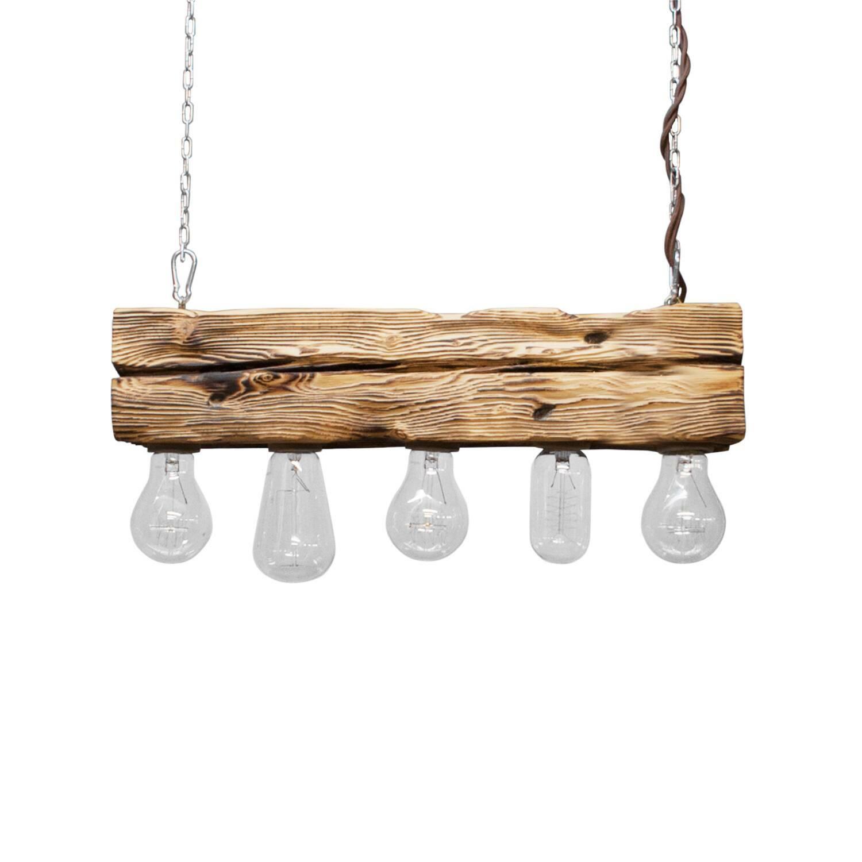 Подвесной светильник Cube 5Подвесные<br><br><br>stock: 0<br>Высота: 10<br>Ширина: 10<br>Длина: 50<br>Длина провода: 120<br>Количество ламп: 5<br>Материал абажура: Сосна<br>Мощность лампы: 40<br>Ламп в комплекте: Нет<br>Напряжение: 220<br>Тип лампы/цоколь: E27<br>Тип производства: Ручное производство<br>Цвет абажура: Натуральный<br>Цвет провода: Коричневый