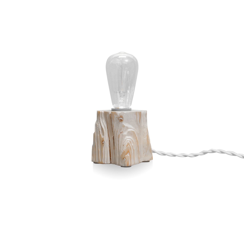 Настольный светильник QuerkНастольные<br><br><br>stock: 0<br>Высота: 10<br>Ширина: 10<br>Длина: 10<br>Количество ламп: 1<br>Материал абажура: Сосна<br>Мощность лампы: 40<br>Ламп в комплекте: Да<br>Напряжение: 230<br>Тип лампы/цоколь: E27<br>Тип производства: Ручное производство<br>Цвет абажура: Белый<br>Цвет провода: Белый