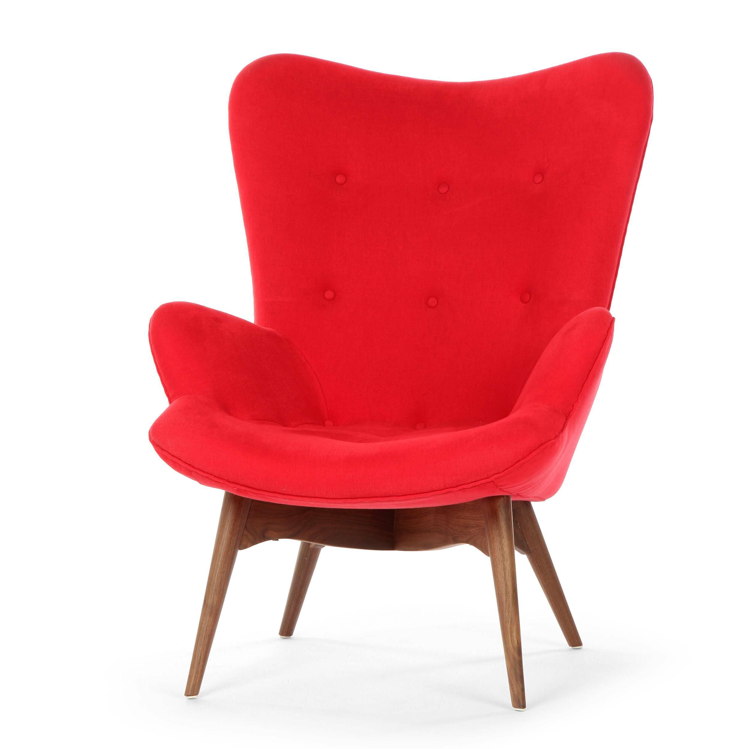 Кресло Contour 2Интерьерные<br>Дизайнерское глубокое кресло Contour 2 (Кантур 2) обивкой из ткани на деревянных ножках от Cosmo (Космо).<br><br><br> Австралийцы любят хороший дизайн во всем, от оформления винных бочонков до серферных досок. Одним из самых ярких дизайнеров стал художник Грант Фезерстон, который начал заниматься дизайном в сороковых годах прошлого столетия и с тех пор стал иконой стиля во всем мире.<br><br><br> Идеальное как для прихожей, так и для гостиной, оригинальное кресло Contour знаменует собой значительный о...<br><br>stock: 2<br>Высота: 91<br>Высота сиденья: 37<br>Ширина: 73,5<br>Глубина: 83<br>Цвет ножек: Орех американский<br>Материал ножек: Массив ореха<br>Материал обивки: Хлопок, Лен<br>Коллекция ткани: Ray Fabric<br>Тип материала обивки: Ткань<br>Тип материала ножек: Дерево<br>Цвет обивки: Красный