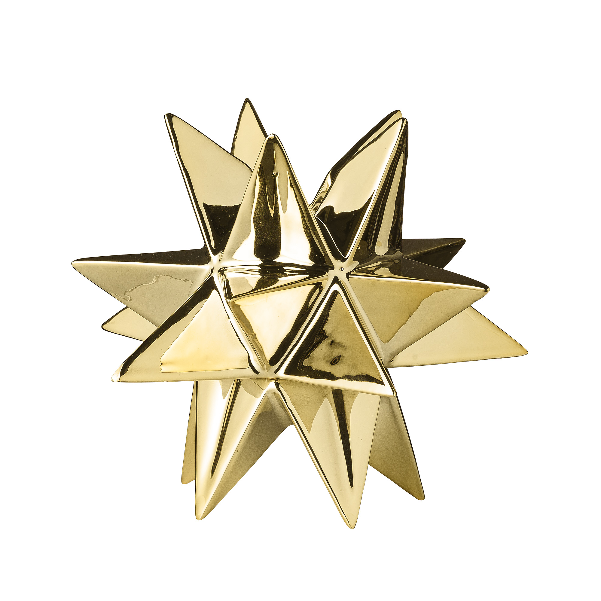 Подсвечник Bloomingville в виде декоративной звезды 3D bloomingville подсвечник фонарь gold