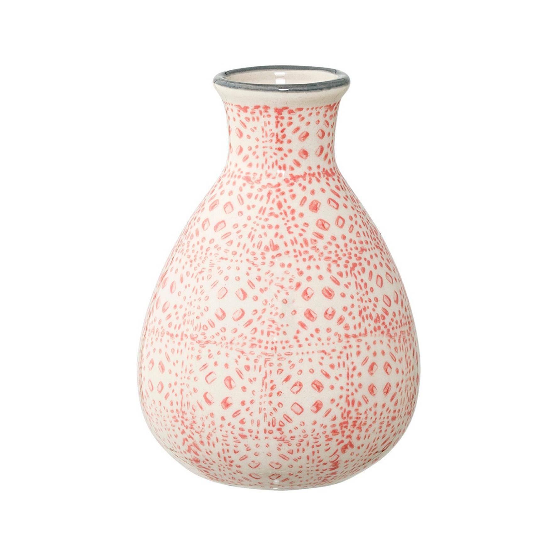Купить Ваза Bloomingville Jag, Розовый, Керамика