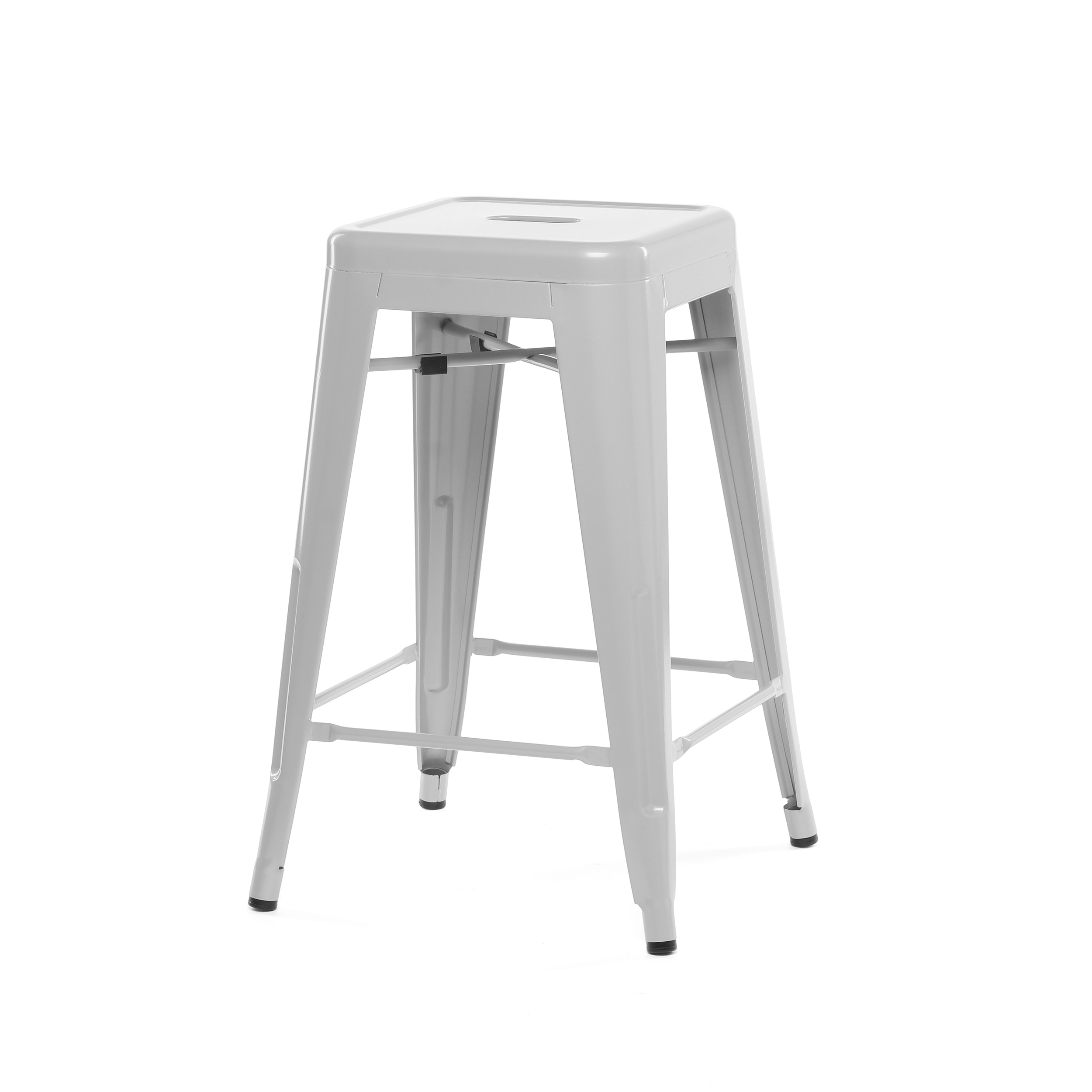 Полубарный стул MC-010Полубарные<br><br><br>stock: 24<br>Высота: 61<br>Ширина: 41<br>Глубина: 41<br>Тип материала каркаса: Сталь<br>Цвет каркаса: Серый