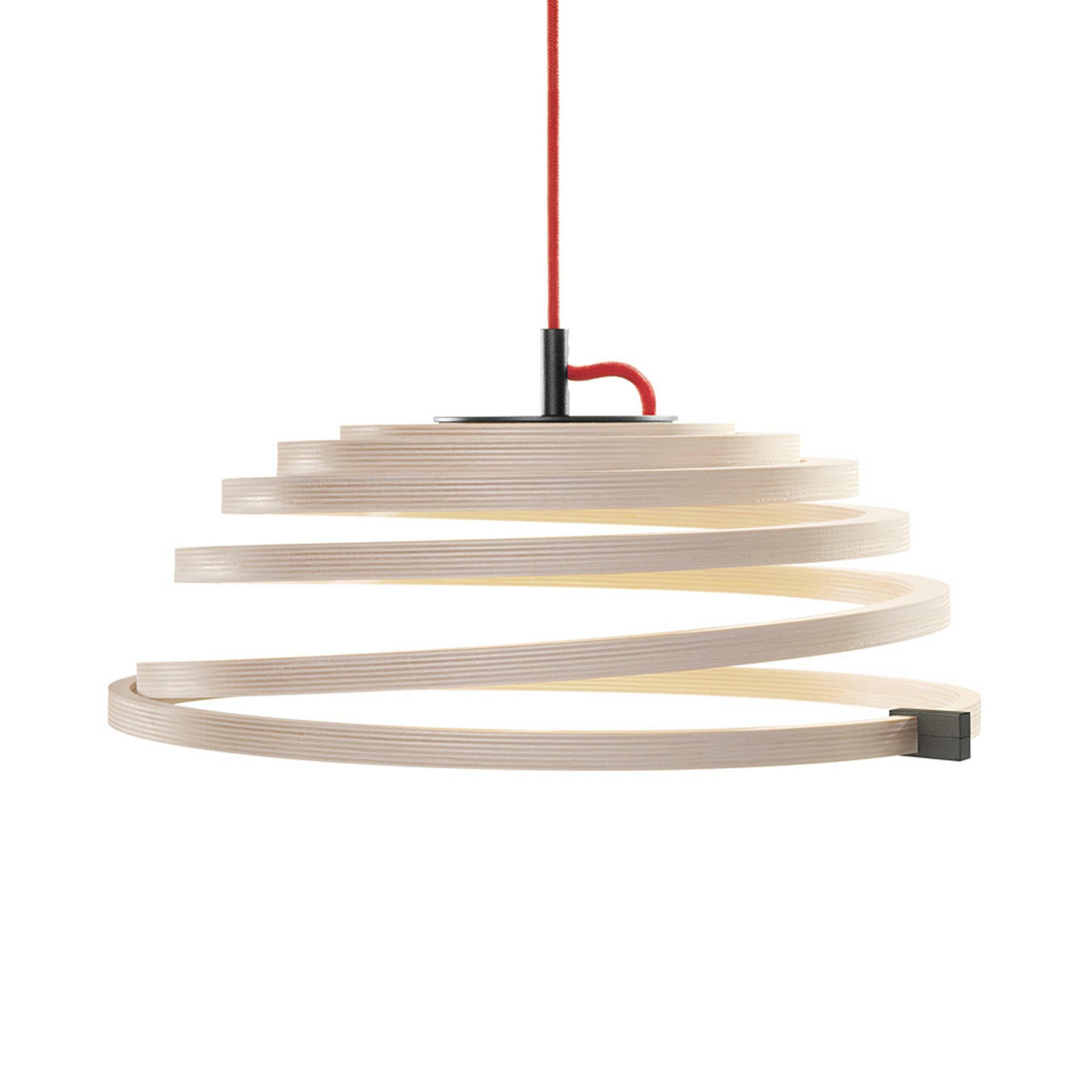 Подвесной светильник Aspiro 8000Подвесные<br>Подвесной светильник Aspiro 8000 от финского дизайнера Сеппо Кохо очаровывает своей спиралевидной формой из прессованной березы. В качестве источника света используются светодиодные лампы. Древесина обеспечивает мягкое привлекательное свечение, создающее умиротворяющую атмосферу, а светодиодные лампы — это долговечные, экологичные и энергосберегающие источники света.<br><br><br><br> Подвесной светильник Aspiro 8000, созданный Сеппо Кохо, опережает свое время. Идея светильника родилась в голове м...<br><br>stock: 1<br>Высота: 25-35<br>Диаметр: 50<br>Материал арматуры: Береза<br>Мощность лампы: 13<br>Теплота света: 3000<br>Тип лампы/цоколь: LED<br>Цвет арматуры: Натуральный