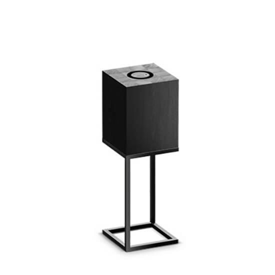 Настольный светильник Cubx M,NoirНастольные<br>Настольный светильник Cubх M, Noir самый компактный светильник серии Cubx. Как и все светильники Handy, настольный светильник Cubх M, Noir оснащен светодиодами отличного качества, яркость которых можно варьировать от декоративной ночной подсветки до очень яркого источника дополнительного освещения. Управление яркостью осуществляется переносным деревянным пультом, который примагничивается к корпусу светильника в специальной нише сверху. Пульт можно достать и управлять светильником дистанционно...<br><br>stock: 0<br>Высота: 60<br>Ширина: 20<br>Длина: 20<br>Длина провода: 300<br>Количество ламп: 1<br>Материал абажура: Дерево<br>Материал арматуры: Металл<br>Мощность лампы: 12<br>Ламп в комплекте: Да<br>Напряжение: 220<br>Степень защиты: 40<br>Теплота света: 3000<br>Тип лампы/цоколь: E27<br>Цвет абажура: Черный<br>Цвет арматуры: Черный<br>Цвет провода: Черный