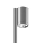 Уличный светильник Roll Midi Ground, AlumУличные<br>Уличный светильник Roll Midi Ground, Alum — средняя по размеру модель ландшафтного светильника с высоким уровнем <br>гидроизоляции. Светильник предназначен для подсветки малых и крупных <br>садовых форм, кустов, деревьев и архитектурных элементов, так же <br>идеально подходит для освещения садовых тротуаров. Основание светильника<br> (место, где светильник крепится к шесту) оснащено двумя поворотными <br>осями: вертикальной (180°) и горизонтальной (355°). Отличается высокой <br>яркостью и отличным качест...<br><br>stock: 0<br>Высота: 120<br>Диаметр: 6<br>Длина: 8,5<br>Длина провода: 100<br>Количество ламп: 3<br>Материал абажура: Алюминий<br>Материал арматуры: Алюминий<br>Мощность лампы: 9<br>Ламп в комплекте: Да<br>Напряжение: 220<br>Степень защиты: 67<br>Теплота света: 3000<br>Тип лампы/цоколь: LED<br>Цвет абажура: Хром<br>Цвет арматуры: Хром<br>Цвет провода: Черный