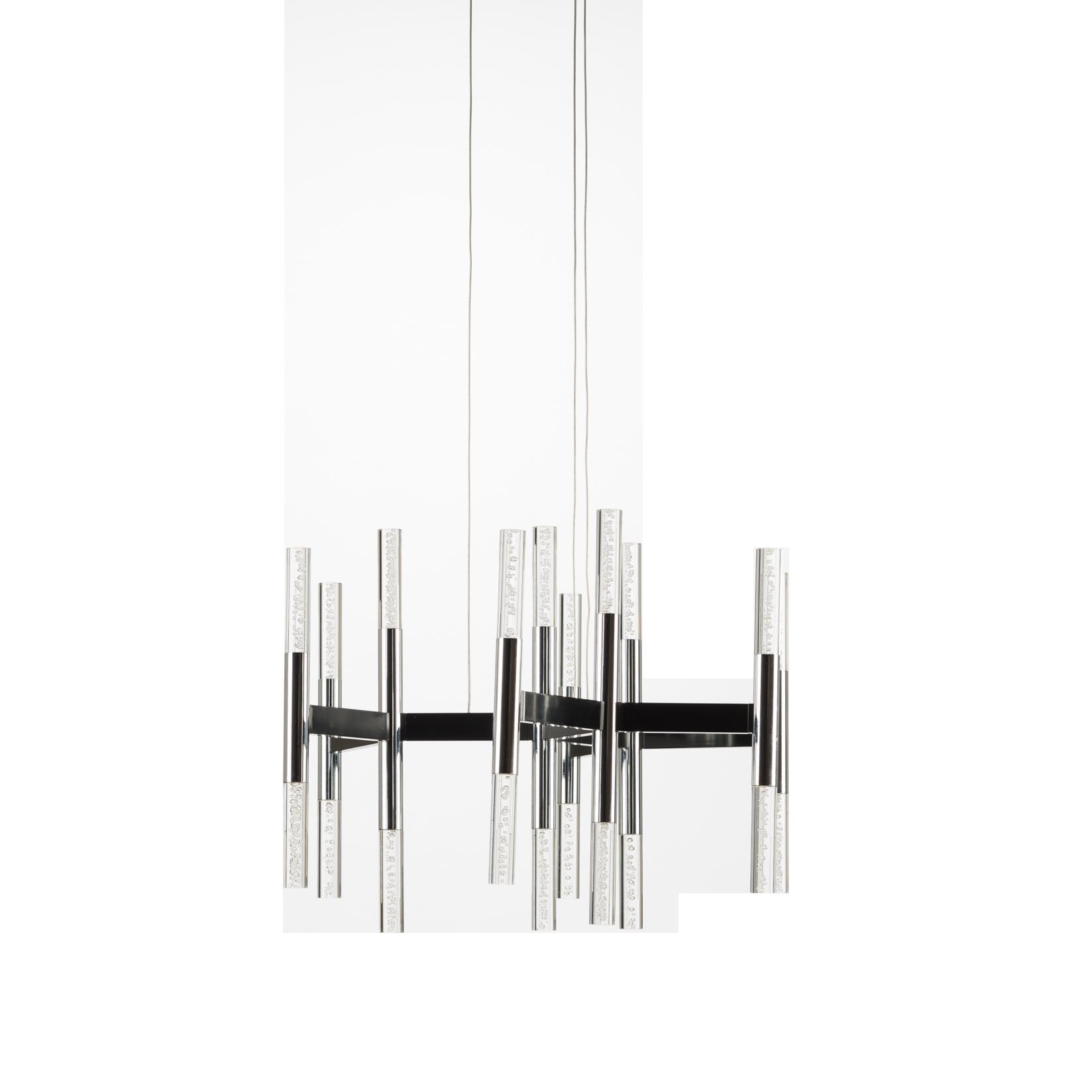 Потолочный светильник ChampagneПотолочные<br>Потолочный светильник Chamagne — это творение дизайнера Роберта Соннемана, работы которого завоевали всемирное признание и считаются современной классикой. Они демонстрируются в Музее современного искусства в Нью-Йорке и Хьюстоне, в Национальном музее дизайна Купер-Хьюитт и других. Роберт утверждает, что все предметы одинаково служат ему вдохновением и благородный напиток не исключение.<br><br><br> Глядя на потолочный светильник Champagne, который по праву можно назвать произведением искусства,...<br><br>stock: 0<br>Высота: 150<br>Диаметр: 48<br>Доп. цвет абажура: Хром<br>Материал абажура: Акрил<br>Материал арматуры: Металл<br>Мощность лампы: 20<br>Ламп в комплекте: Нет<br>Тип лампы/цоколь: LED<br>Цвет абажура: Прозрачный