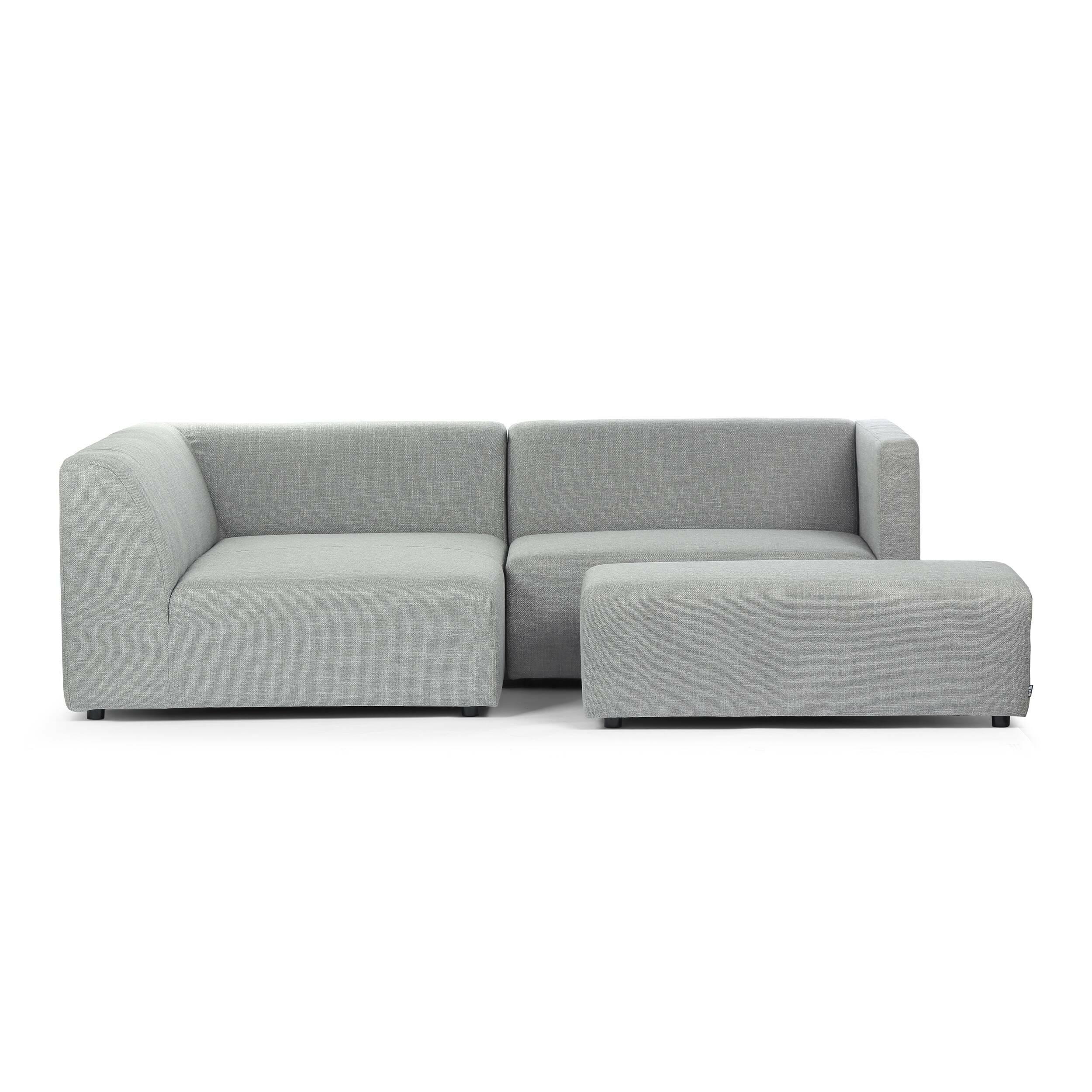 Диван JohnУгловые<br>Дизайнерский диван John разработан популярной компанией Sits, которая занимается созданием комфортной мягкой мебели. Дизайн этого изделия – это настоящая находка для «умной» организации пространства. Модель состоит из двух частей: основного дивана на двух-трех человек и дополнительного пуфа, на котором с удобством могут разместиться еще два человека. Это очень удобно во время чаепитий, посиделок с семьей или друзьями – между диванчиком и пуфом можно установить кофейный или журнальный столи...<br><br>stock: 0<br>Высота: 73<br>Высота сиденья: 42<br>Глубина: 220<br>Длина: 240<br>Цвет ножек: Черный<br>Материал обивки: Полиэстер, Акрил<br>Степень комфортности: Стандарт комфорт<br>Коллекция ткани: Категория ткани II<br>Тип материала обивки: Ткань<br>Тип материала ножек: Пластик<br>Цвет обивки: Светло-серый