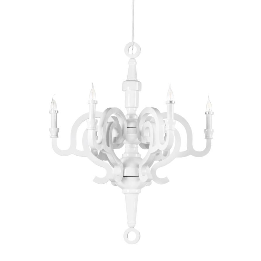 Подвесной светильник Allesley диаметр 90Подвесные<br>Дизайнерский подвесной светильник Allesley диаметр 90 – это красивейшее изделие в стиле винтаж и загадочной готики. Модель уникальна своим исполнением: за счет глянцевой поверхности, четких линий и стильных цветов изделие отлично впишется даже и в современный интерьер.<br><br><br> Для этой модели взяли довольно необычный для светильника материал – дерево, которое придает изделию античный вид.<br><br><br> Хотите разнообразить скучный интерьер? Или придать минималистичному интерьеру плавности и добав...<br><br>stock: 0<br>Высота: 102<br>Диаметр: 90<br>Количество ламп: 6<br>Материал арматуры: Дерево<br>Мощность лампы: 40<br>Ламп в комплекте: Нет<br>Тип лампы/цоколь: E14<br>Цвет арматуры: Белый