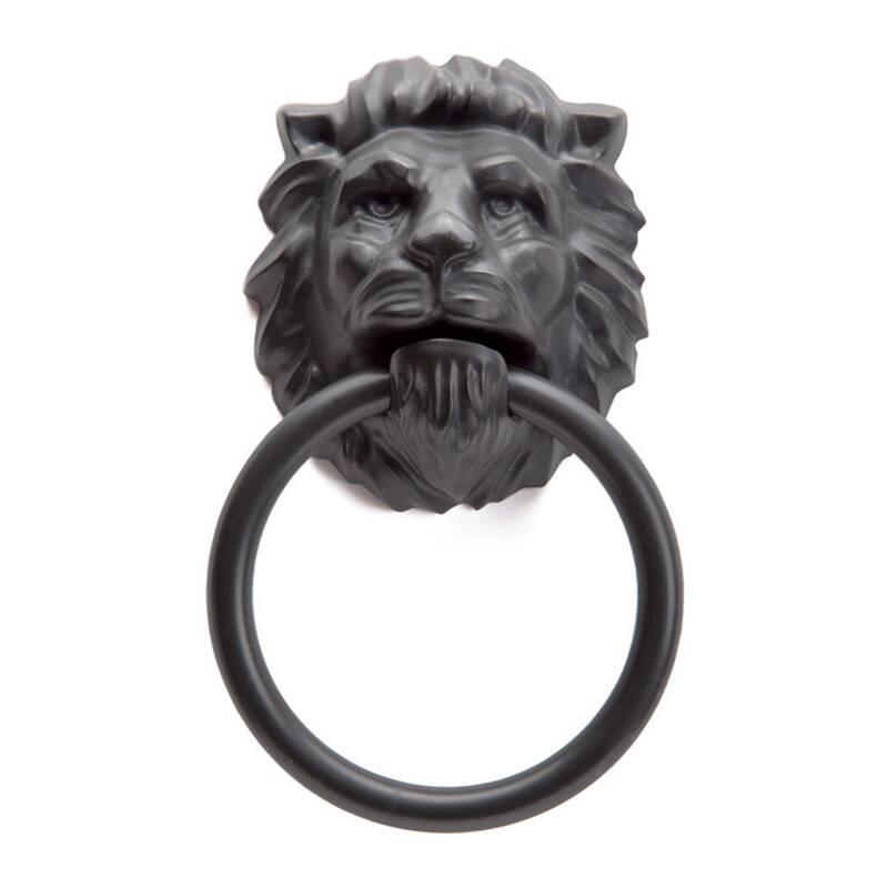 Держатель для полотенца Lion headНастенный декор<br><br><br>stock: 0<br>Высота: 18,5<br>Ширина: 11,2<br>Глубина: 5<br>Материал: Пластик<br>Цвет: Черный