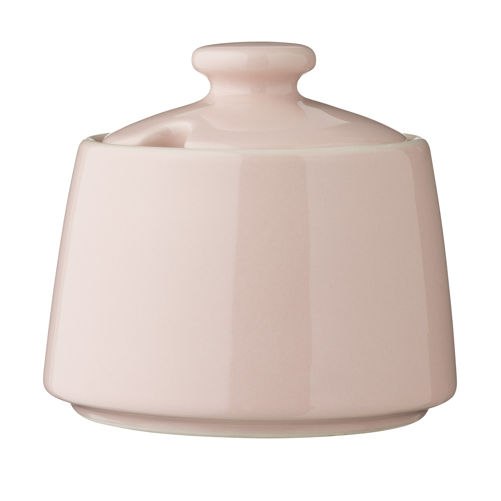 Купить Сахарница Bloomingville розовая, Розовый, Керамика