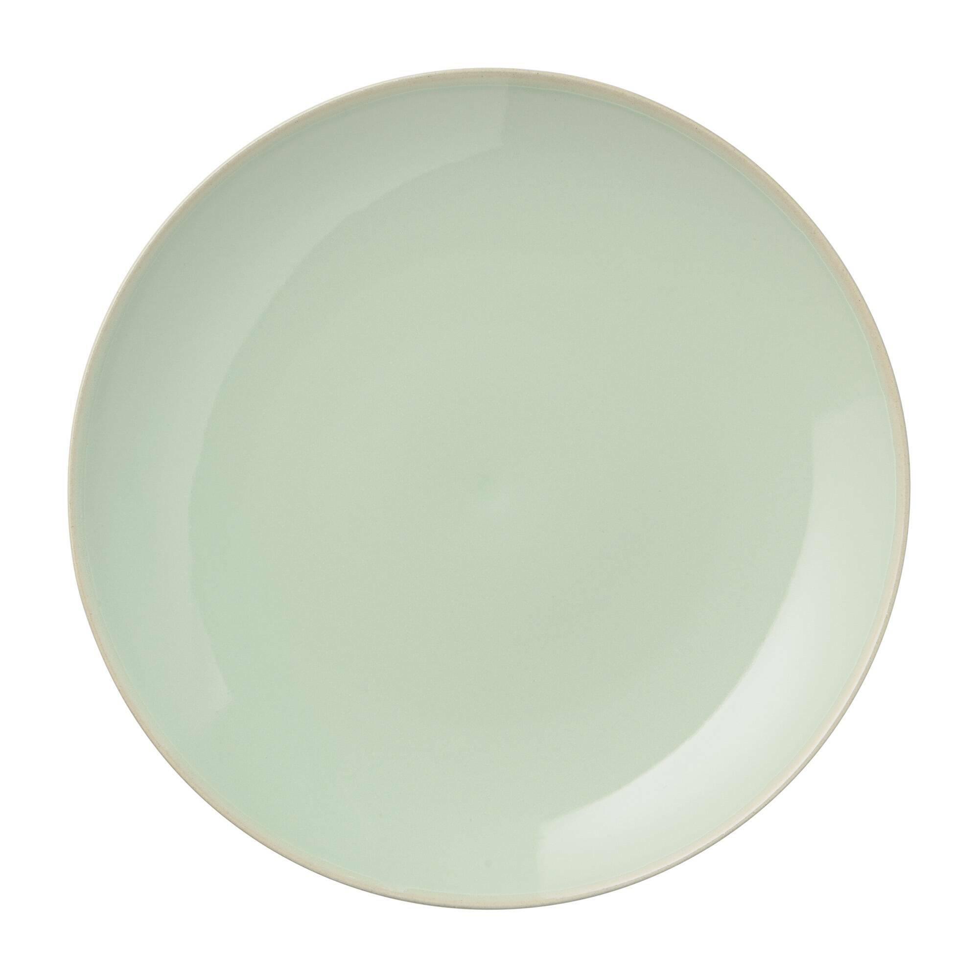 Купить Тарелка Bloomingville зеленая, Зелёный, Керамика