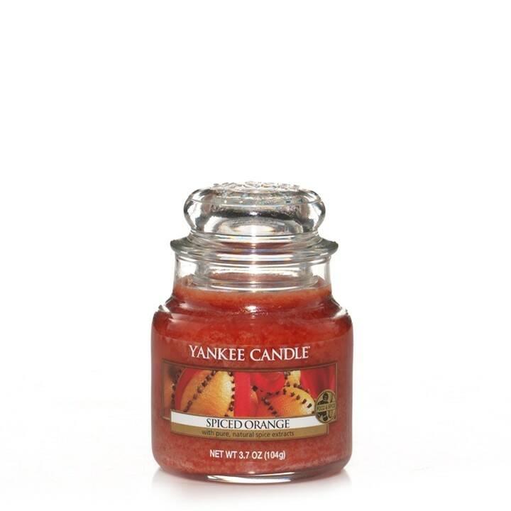Свеча маленькая в стеклянной банке Spiced Orange