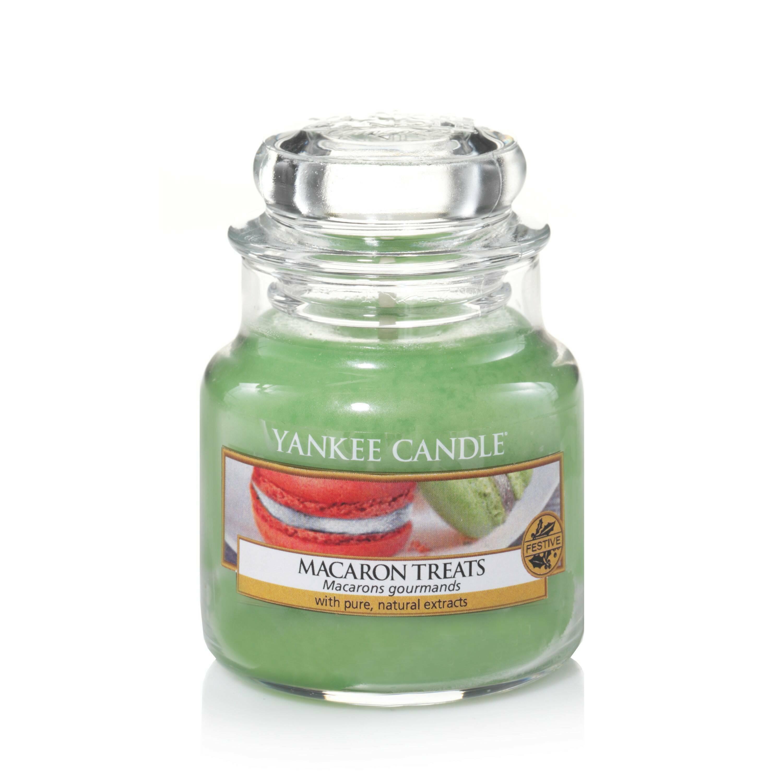 Свеча маленькая в стеклянной банке Macaron Treats