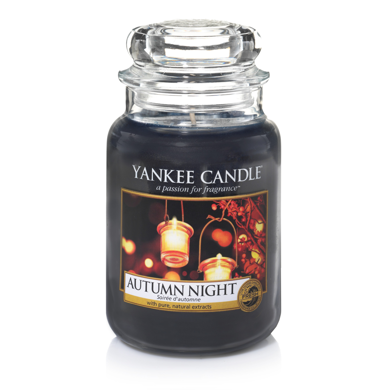 Свеча большая в стеклянной банке Autumn Night свеча большая в стеклянной банке dreamy summer night