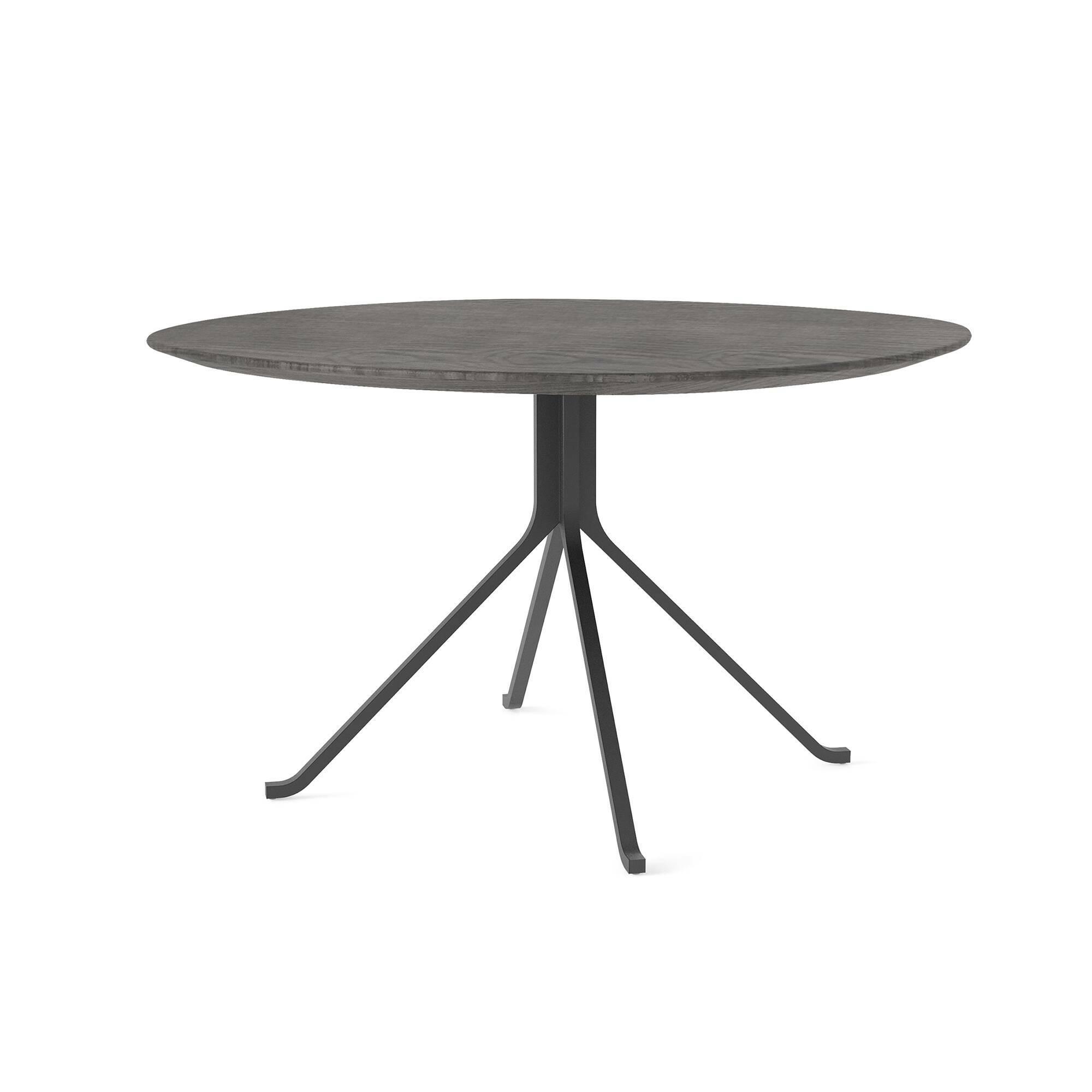 Обеденный стол Blink с деревянной столешницей диаметр 120