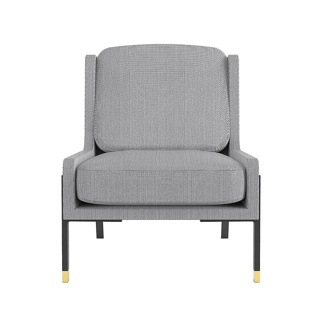 Кресло BlinkИнтерьерные<br>Если стилистика домашнего интерьера требует спокойных тонов, лаконичных форм и комфорта, то кресло Blink идеально соответствует этим параметрам и будет красиво смотреться в любой домашней комнате. Дизайнеры компании Stellar Works выполнили эту модель в классическом стиле, однако добавили ей немного современного контраста и четкости.<br><br><br> Кроме внешних отличительных особенностей, которые говорят о принадлежности этого кресла к современным направлениям, есть и внутренние признаки. Кресло ...<br><br>stock: 0<br>Высота: 82<br>Высота сиденья: 43<br>Ширина: 69,6<br>Глубина: 80<br>Цвет ножек: Черный<br>Материал обивки: Полиэстер<br>Цвет ножек дополнительный: Латунь<br>Коллекция ткани: Fabric C: Diamond<br>Тип материала обивки: Ткань<br>Тип материала ножек: Сталь<br>Цвет обивки: Серый
