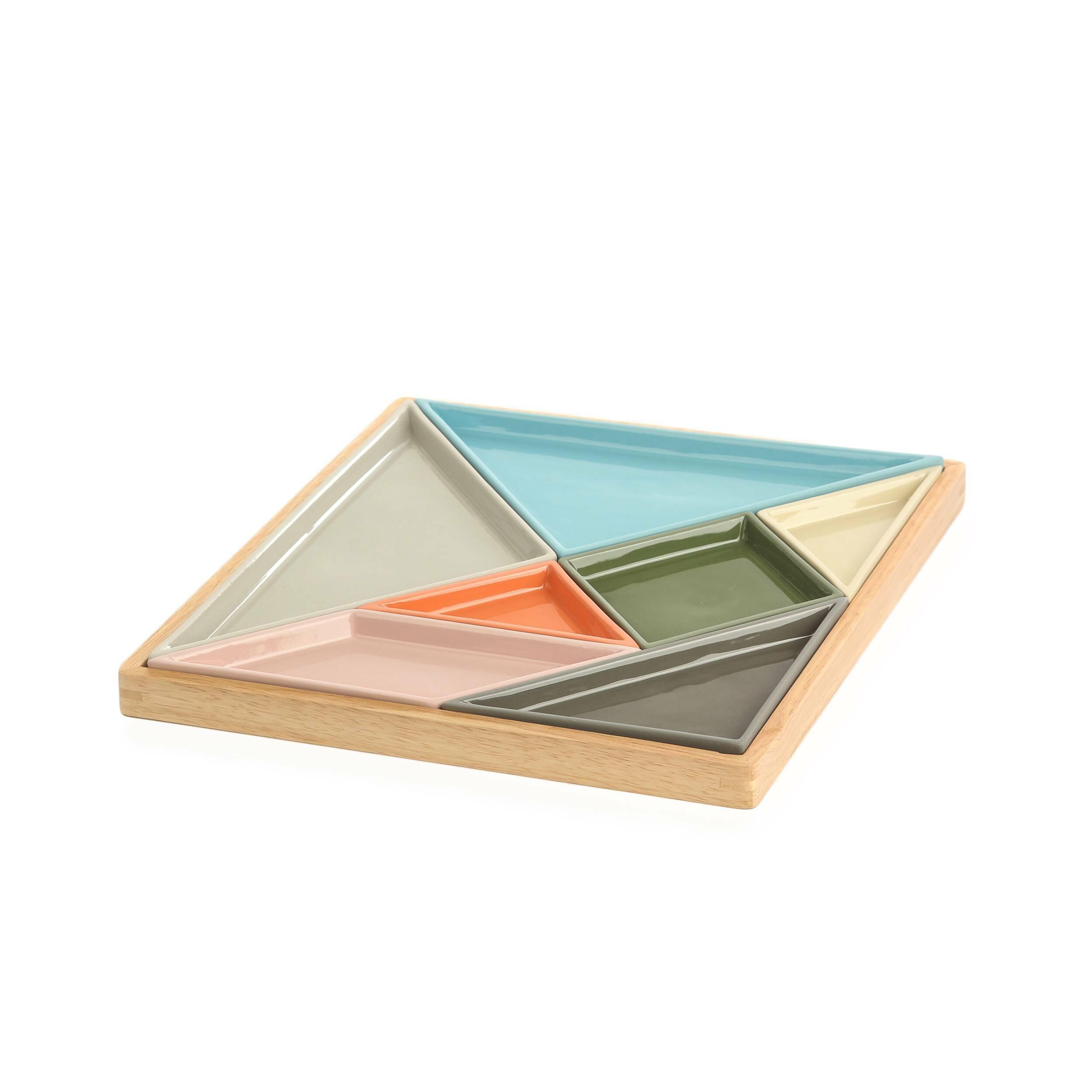 Купить Подставка Tangaram, Cosmo, Разноцветный, Керамика