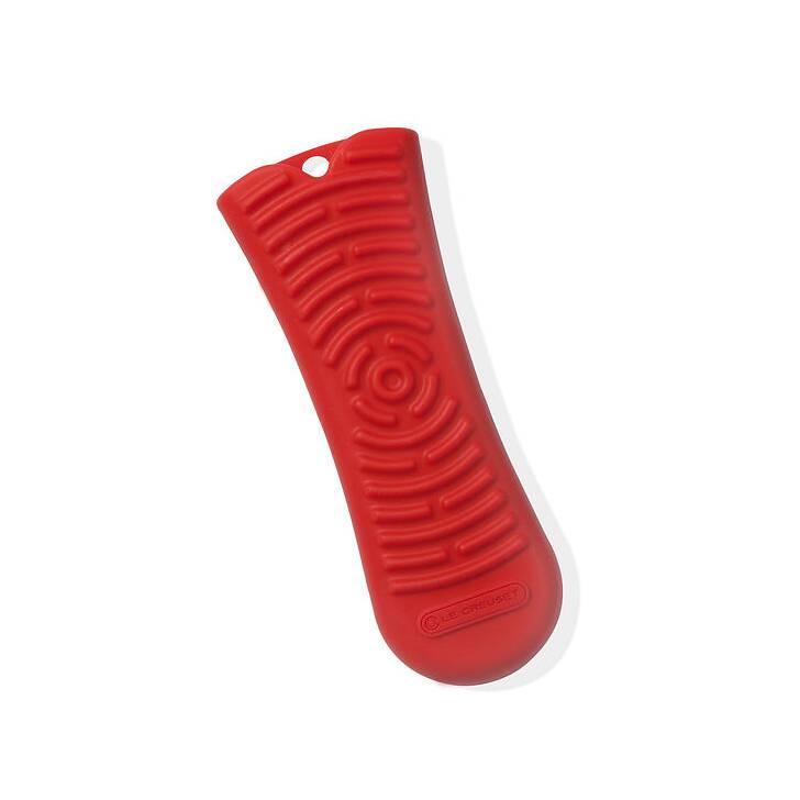Прихватка силиконовая на ручку, красный