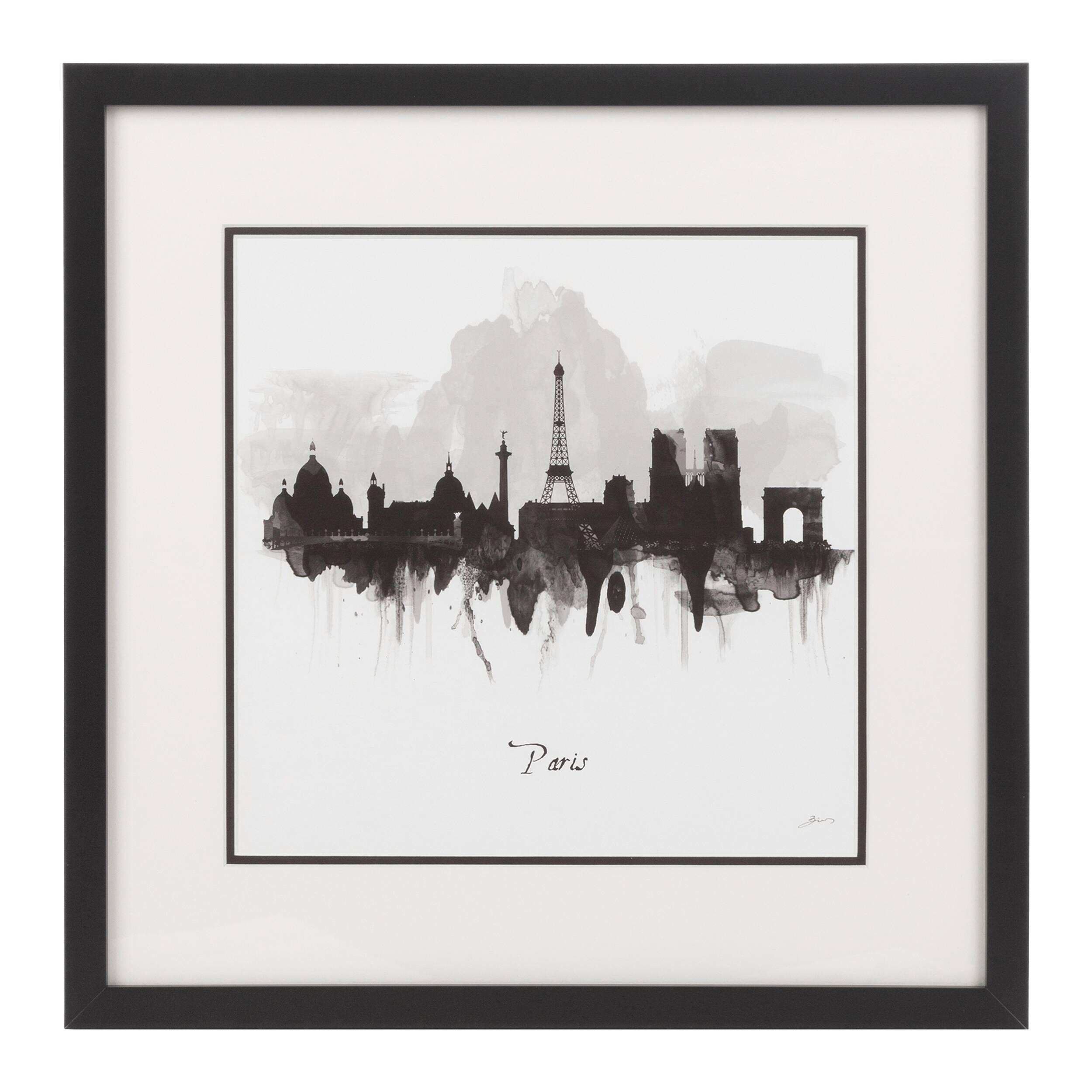 Постер Paris in Black and White