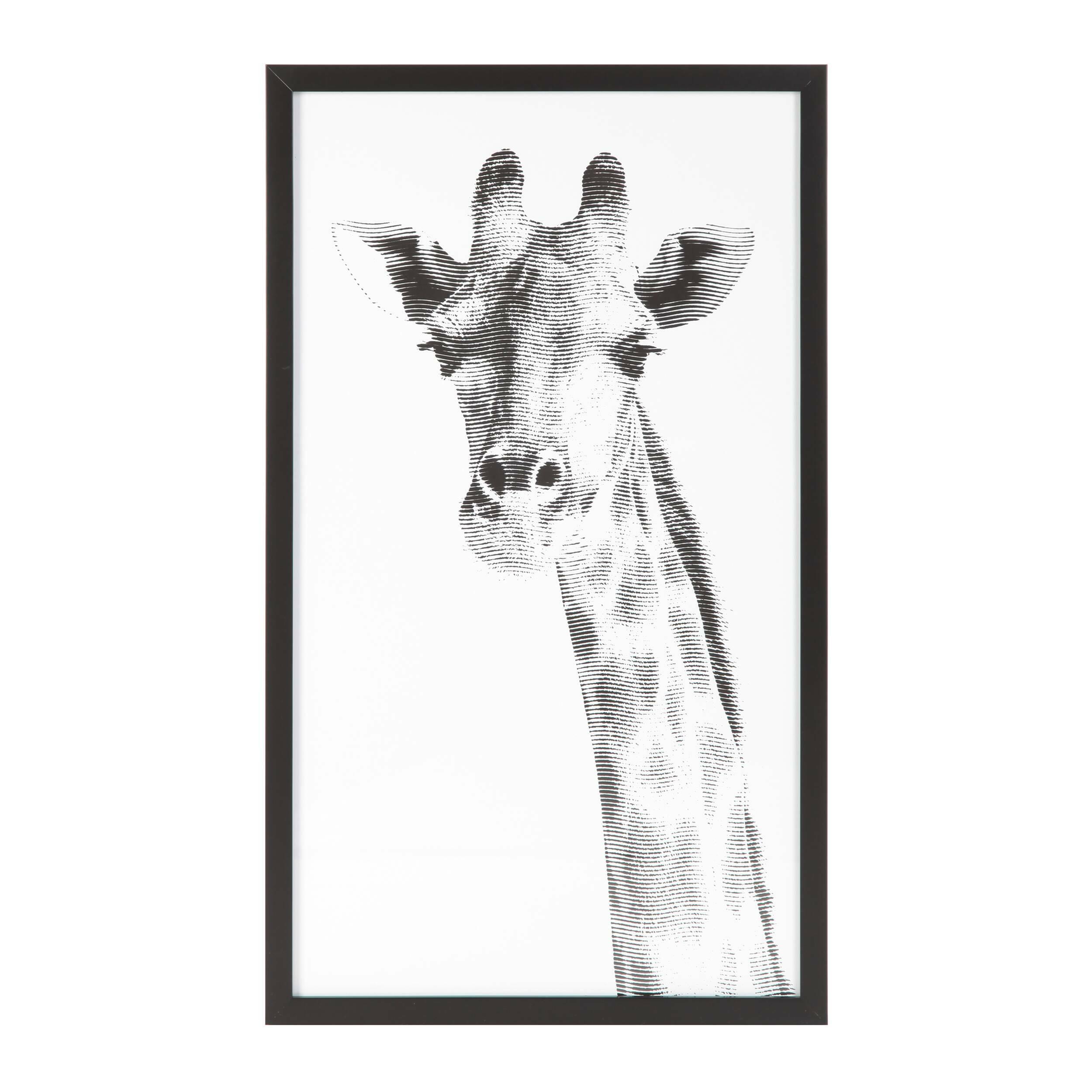 Постер Giraffe