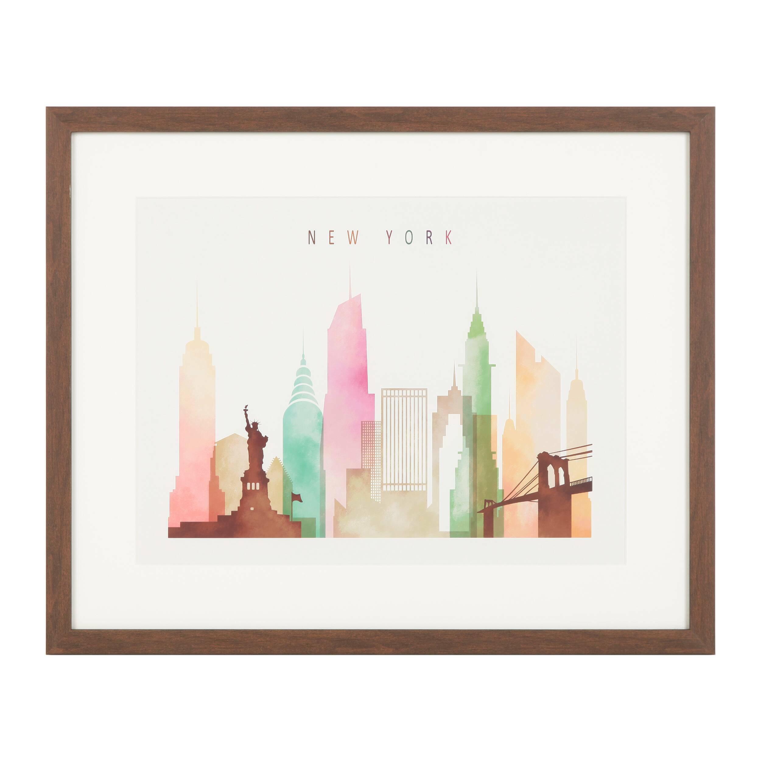 Постер New York, USA