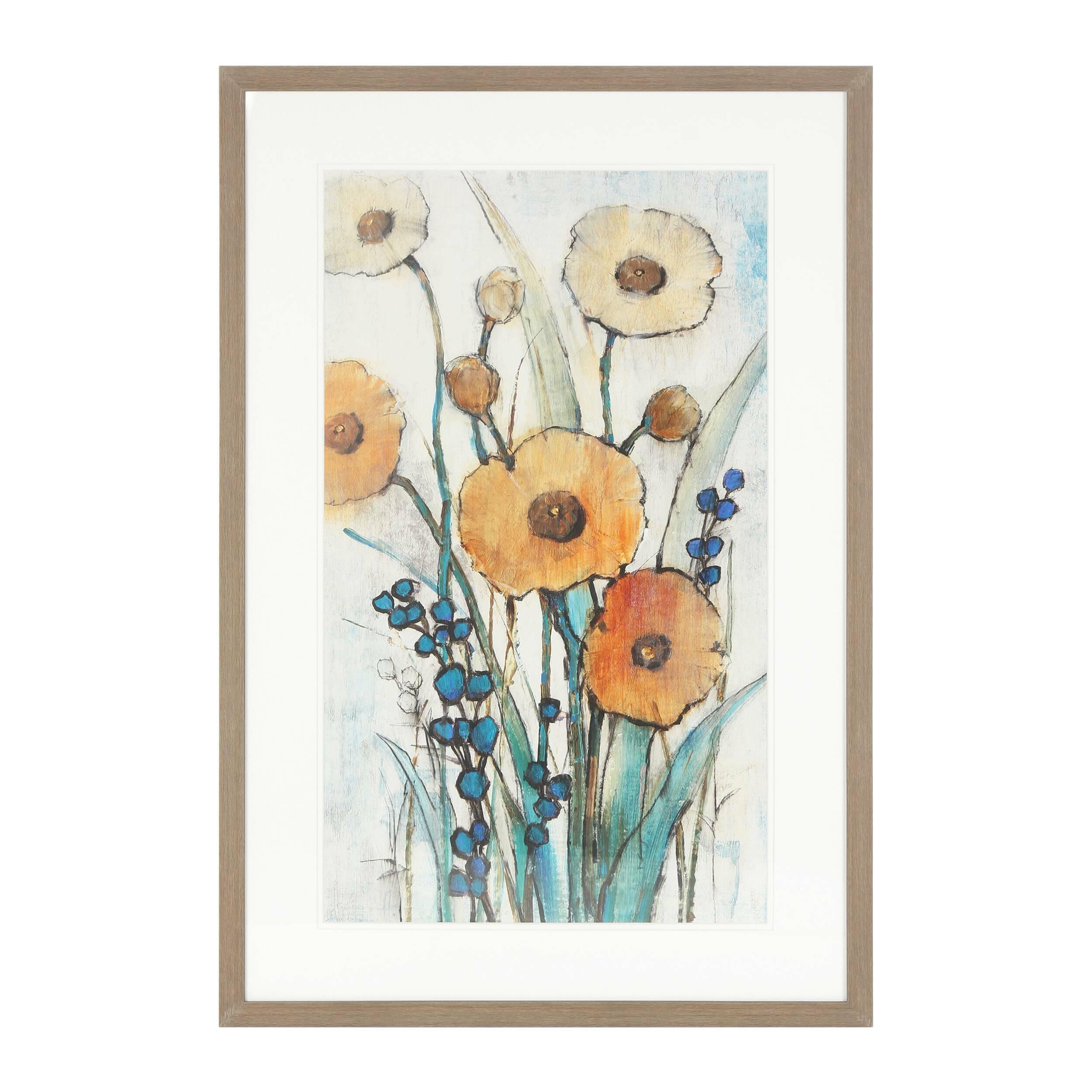 Постер Floral PopКартины<br><br><br>stock: 5<br>Ширина: 64<br>Цвет: Разноцветный<br>Длина: 95