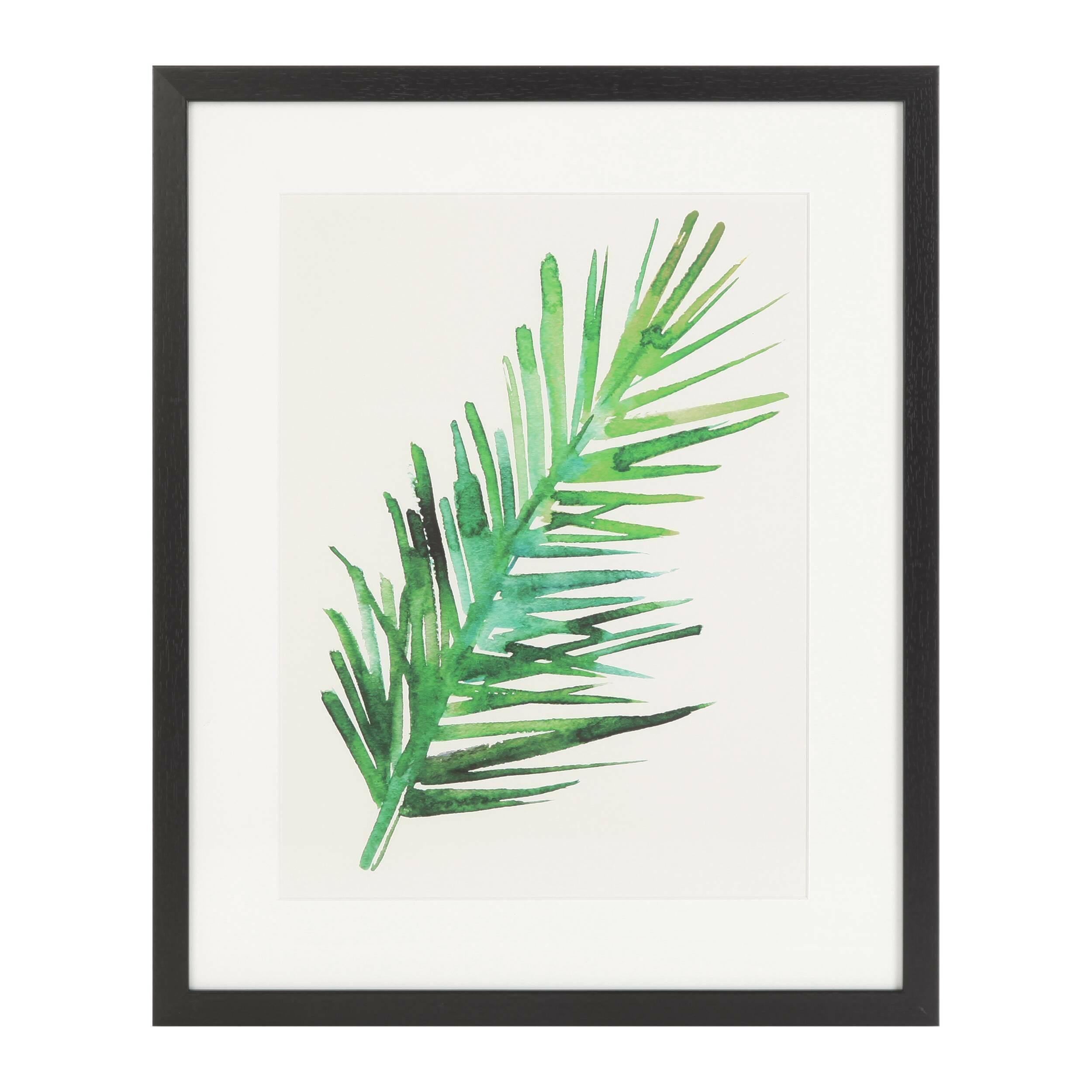 Постер Palm 2Картины<br><br><br>stock: 10<br>Ширина: 43<br>Цвет: Зеленый<br>Длина: 53
