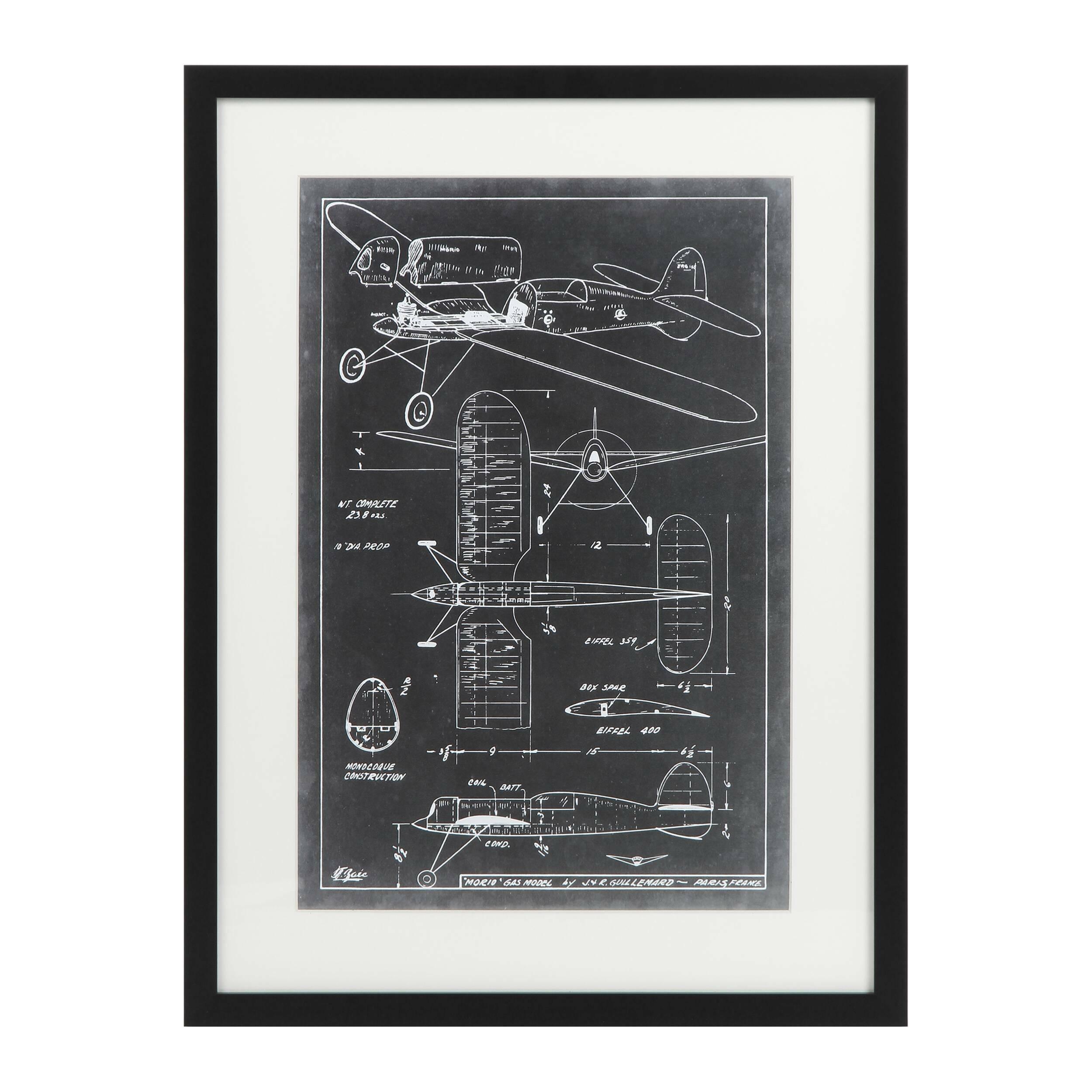 Постер Aeronautic Blueprint 2