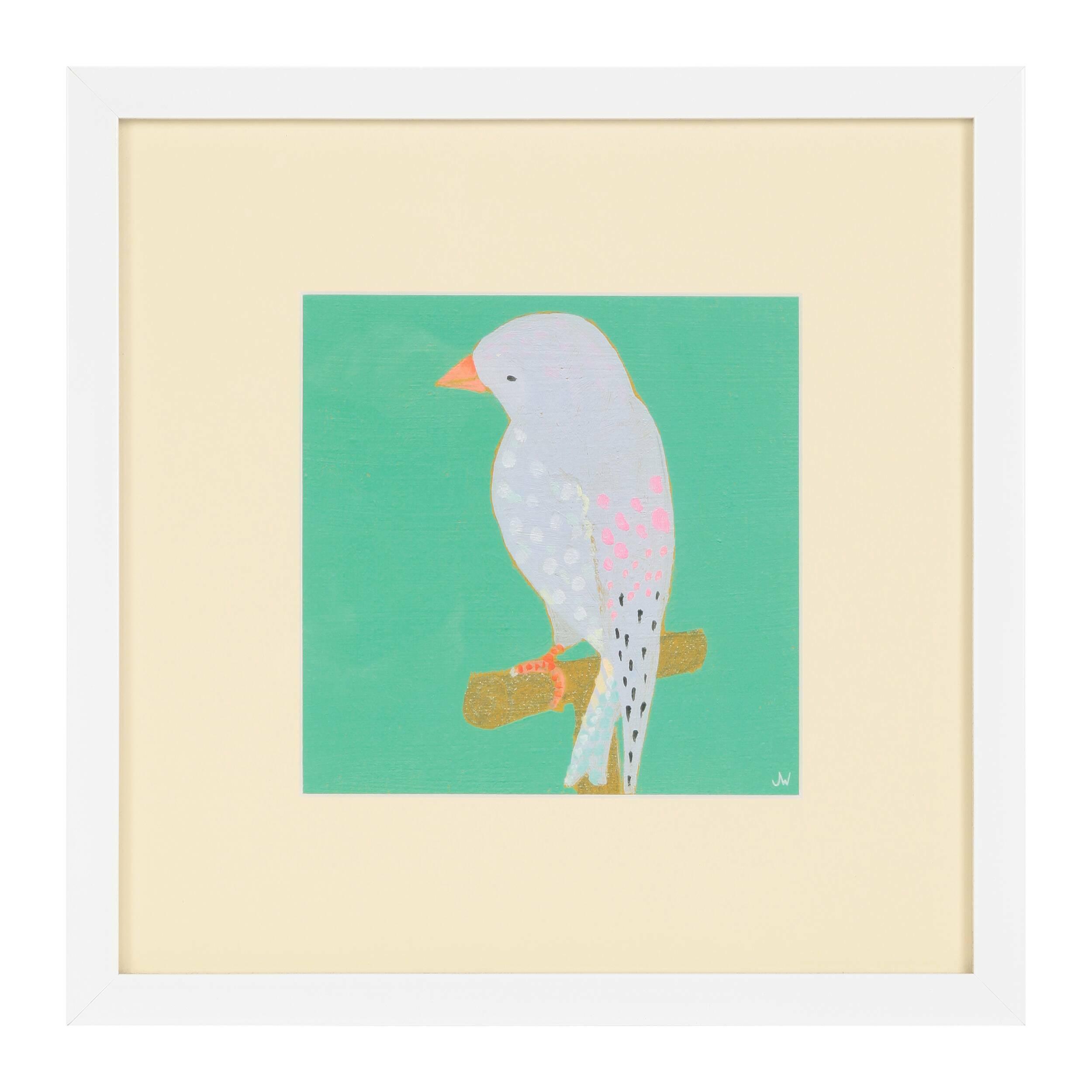 Постер Bright Birds 3Картины<br><br><br>stock: 10<br>Ширина: 36,8<br>Цвет: Разноцветный<br>Длина: 36,8