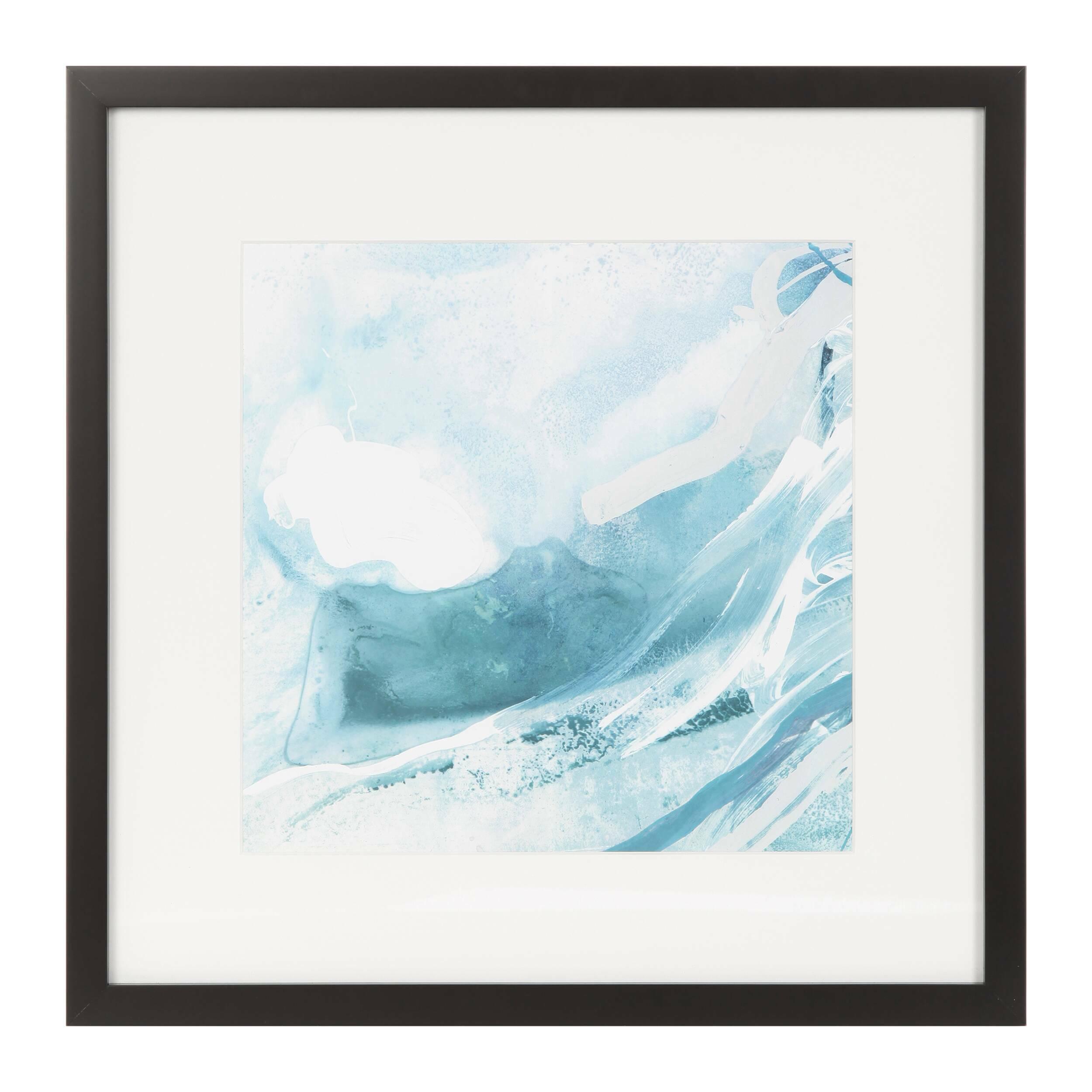 Постер Glacier 2Картины<br><br><br>stock: 10<br>Ширина: 45,8<br>Цвет: Голубой<br>Длина: 45,8