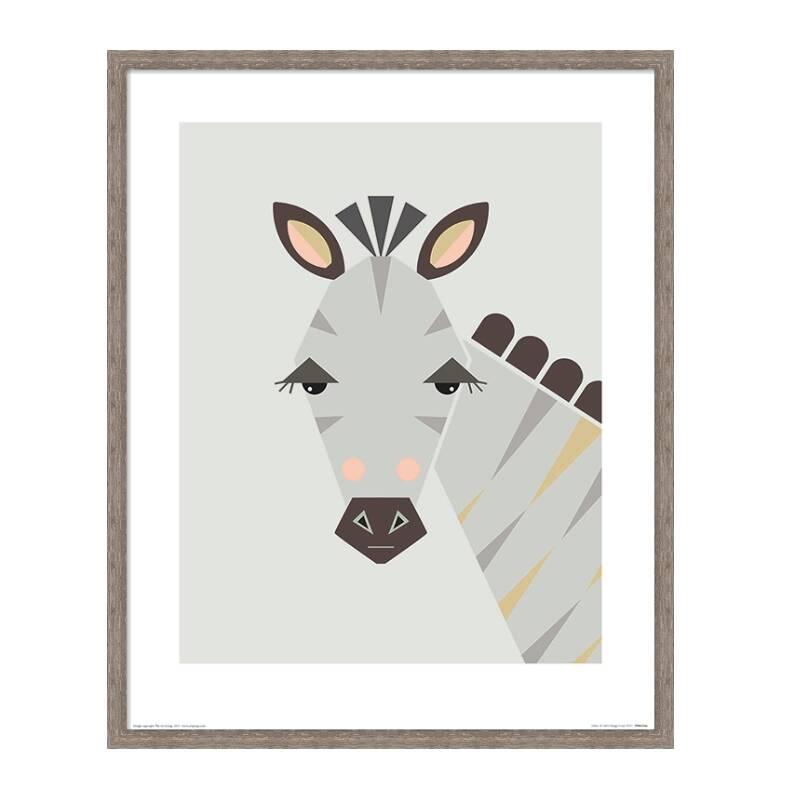 Постер ZebraКартины<br><br><br>stock: 4<br>Ширина: 43,2<br>Цвет: Разноцветный<br>Длина: 53,2