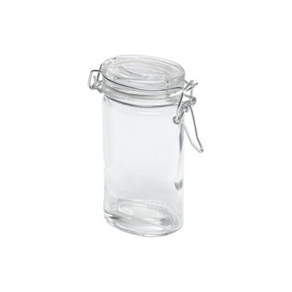 Банка для хранения с крышкой BOCAL (ZBI731007)Посуда<br>Артикул: ZBI731007. Нет ничего удобнее, чем хранить соль, сахар или специи в стеклянной баночке BOCAL.Компактный размер, цилиндрическая форма без углов, крышка, надежно закрывающаяся с помощью металлического зажима – все говорит в пользу приобретения этой кухонной принадлежности. Не откажите себе в удовольствии ежедневного комфорта, закажите банку BOCAL прямо сейчас. Дизайн: ComingB, Франция.<br><br>stock: 27<br>Высота: 9<br>Ширина: 4<br>Материал: Стекло<br>Цвет: Прозрачный<br>Размер: 9 x 4 x 8<br>Длина: 8<br>Страна происхождения: Франция<br>Объем: 90
