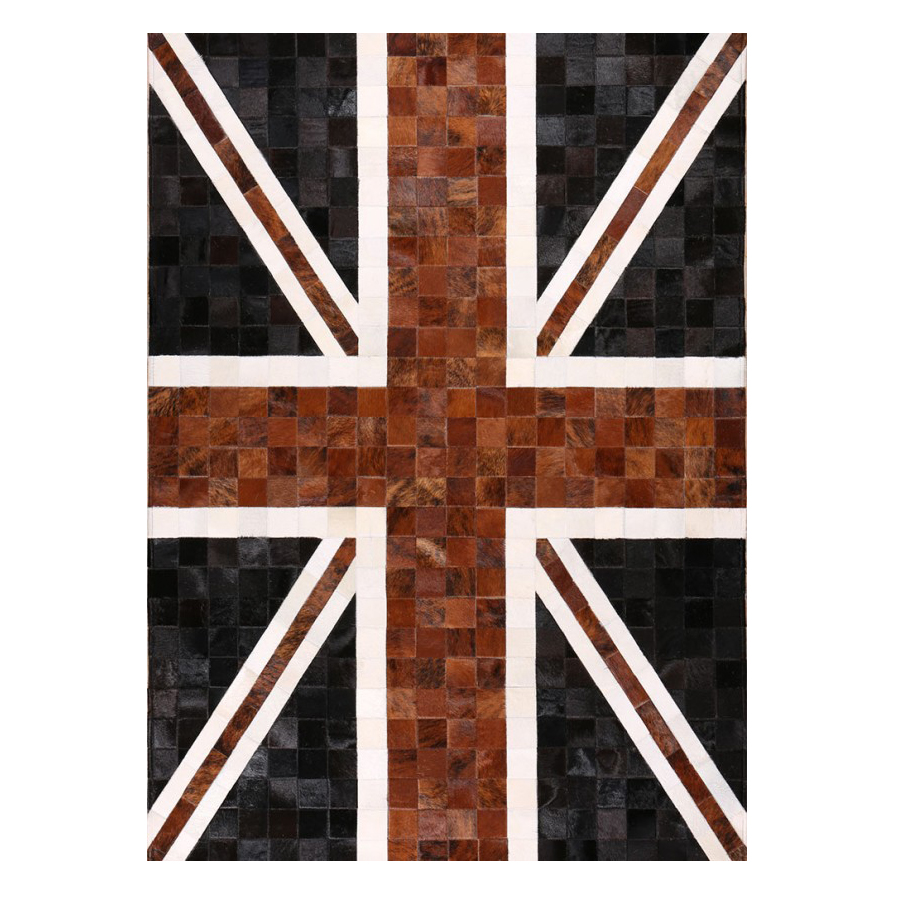 Ковер Vintage Union JackКовры<br>Mosaic Rug – это уникальный английский бренд, который занимается производством высококачественных ковров из коровьих шкур на основе из искусственной кожи. Дизайнеры создают из этого необычного материала настоящие шедевры. Каждое изделие шьется вручную с помощью современных швейных машин. Ковры отличаются яркой индивидуальностью и характером, каждый обладает интересными сочетаниями цветовых оттенков, паттернов, рисунков и узоров. Все этапы производства находятся под тщательным контролем опы...<br><br>stock: 0<br>Ширина: 120<br>Материал: Коровья шкура<br>Цвет: Разноцветный<br>Длина: 180<br>Состав основы: Кожа искусственная