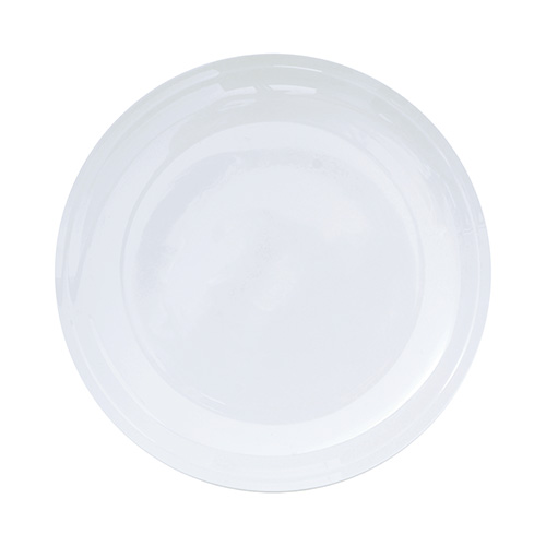 Тарелка столовая EDGE (BAM09145)Посуда<br>Артикул: BAM09145. Столовая тарелка в непривычном сегодня, но классическом исполнении из белого фарфора, выглядит очень современно благодаря лаконизму формы. Эксклюзив. Сделано в Австралии<br><br>stock: 48<br>Материал: фарфор костяной<br>Цвет: Белый<br>Размер: None<br>Диаметр: 27<br>Страна происхождения: Австралия