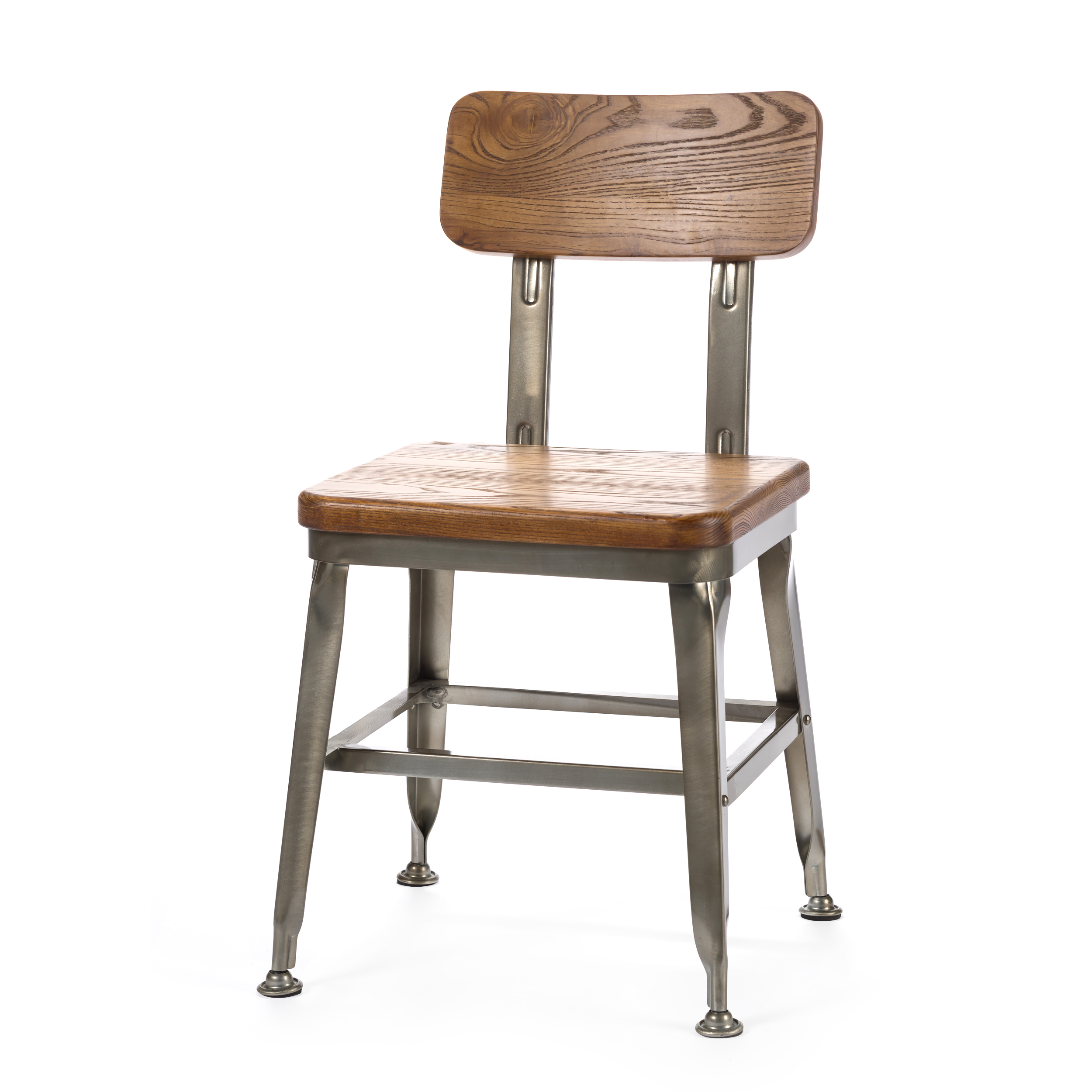 Стул HansИнтерьерные<br>Дизайнерский металлический стул Hans (Хэнс) с вставками из массива ивы от Cosmo (Космо).<br><br>     Ясу Сасамото, японский индустриальный дизайнер предметов обихода и основатель мебельной компании Dulton, наделяет свои работы необычной эстетикой и поразительной долговечностью. Его мебель может передаваться по наследству, уверенно проходя сквозь десятилетия. Он сделал возможным использовать аксессуары с промышленным характером даже в ретростиле жилых и общественных помещений.<br><br><br> Оригинальный с...<br><br>stock: 0<br>Высота: 79,5<br>Высота сиденья: 45<br>Ширина: 45<br>Глубина: 49,5<br>Тип материала каркаса: Сталь<br>Материал сидения: Массив ивы<br>Цвет сидения: Коричневый<br>Тип материала сидения: Дерево<br>Цвет каркаса: Бронза пушечная