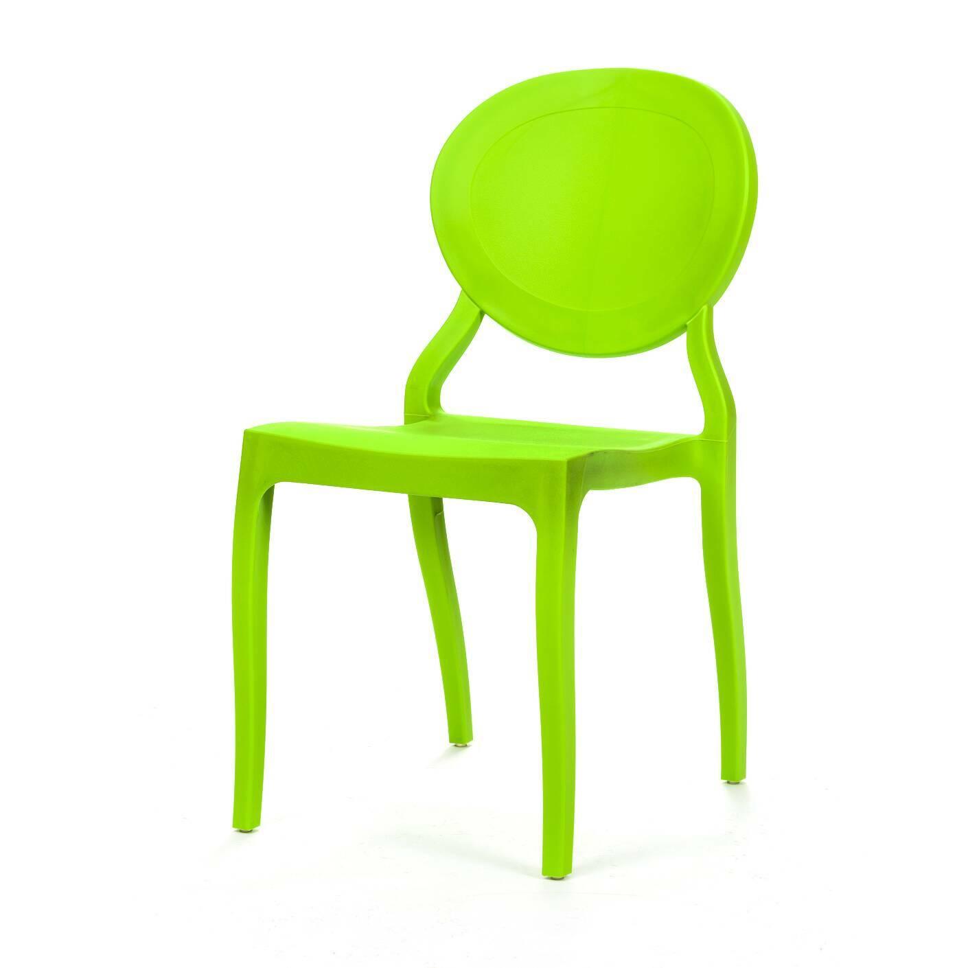 Стул Romola StackableИнтерьерные<br>Дизайнерский одноцветный яркий стул Romola Stackable (Ромола Стэкейбл) из полипропилена от Cosmo (Космо).<br><br>     Этот стул настолько простой и одновременно необычный, что его трудно однозначно отнести к конкретному стилю. Он великолепно сочетается с модерном и классикой, прекрасно вписывается в китч и минимализм, подходит для индустриального направления. Такая универсальность достигается благодаря сочетанию формы и материала.<br><br><br>     Ножки слегка изогнуты, фигурной формы сиденье и круглая ...<br><br>stock: 14<br>Высота: 82<br>Высота сиденья: 44<br>Ширина: 42<br>Глубина: 55,5<br>Тип материала каркаса: Полипропилен<br>Цвет каркаса: Зеленый