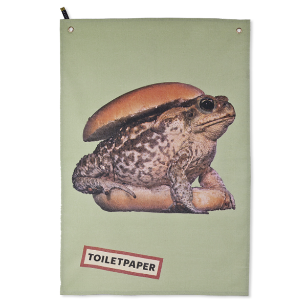 Купить Полотенце Toad, Seletti, Разноцветный/Colorful, Ткань