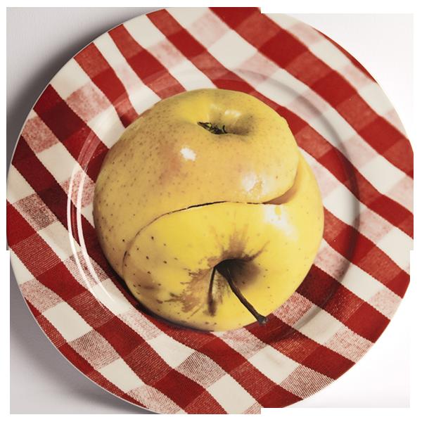 Тарелка Apple