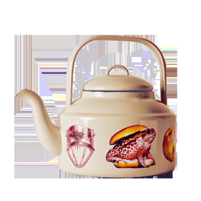 Чайник ToadПосуда<br>Чайник Toad из коллекции Toiletpaper от компании Seletti — это как раз то, что и следовало ожидать от этой дизайн-студии. Знаменитые на весь мир Seletti не раз прогремели своими коллекциями посуды и мебели провокационного содержания. Но за это их все и любят. <br> <br> Кухонная утварь Toiletpaper названа в честь одноименного журнала, основанного в 2010 году художником Маурицио Кателланом и фотографом Пьерпауло Феррари. За время существования издания огромное количество изображений из журнала испо...<br><br>stock: 0<br>Высота: 20,5<br>Материал: Сталь эмалированная<br>Цвет: Желтый<br>Диаметр: 18