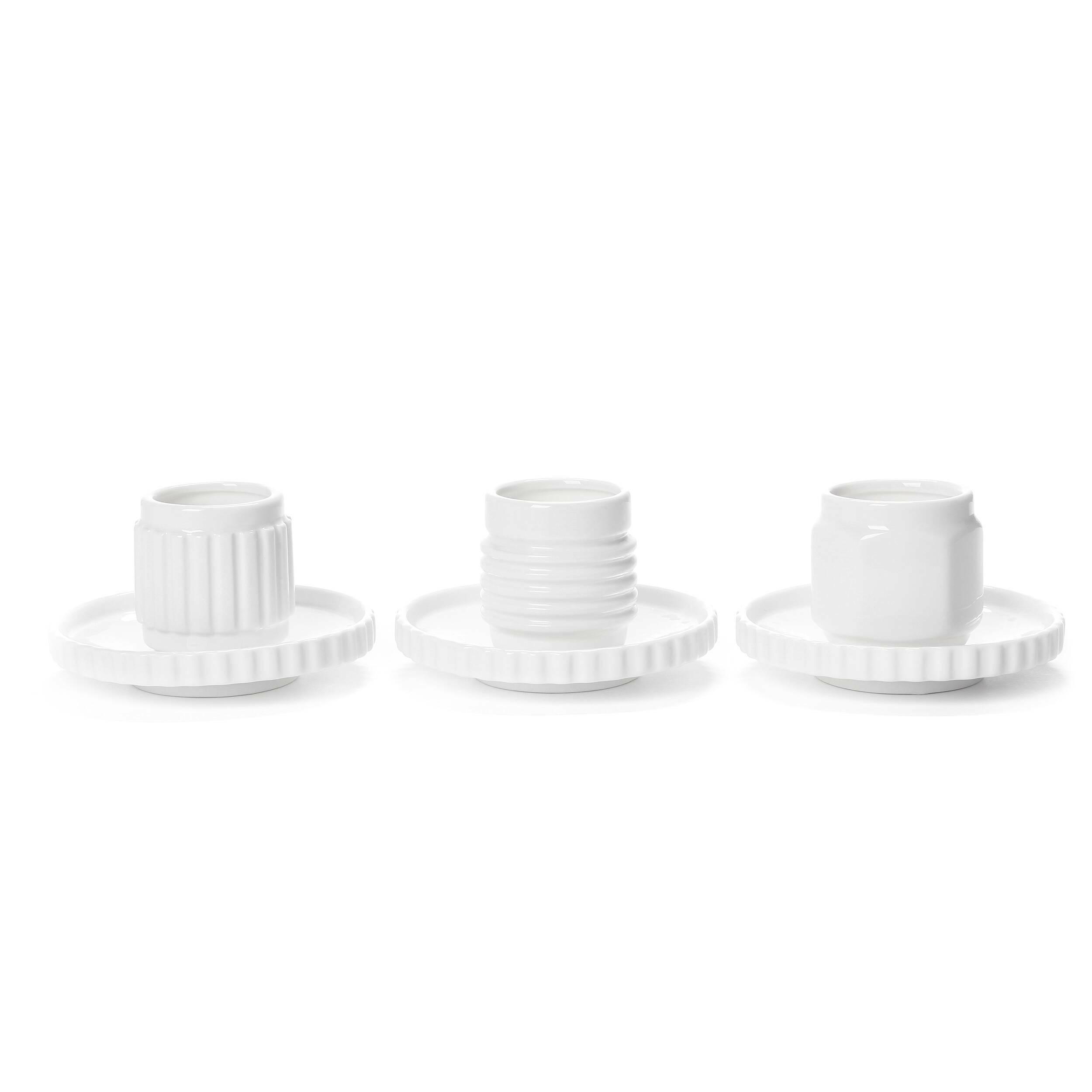 Набор из 3 чашек с блюдцами Machine Collection
