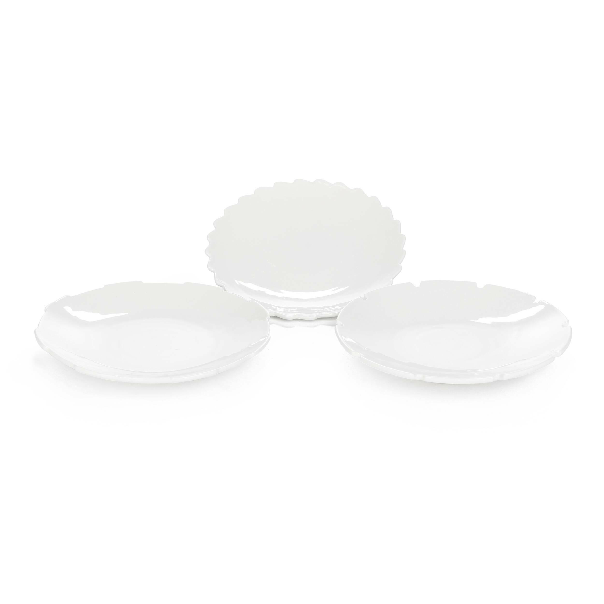 Набор из 3 десерных тарелок Machine Collection